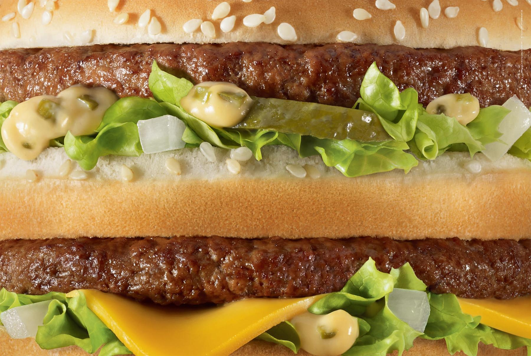 McDonald's Print Ad -  Unbranded, Big Mac
