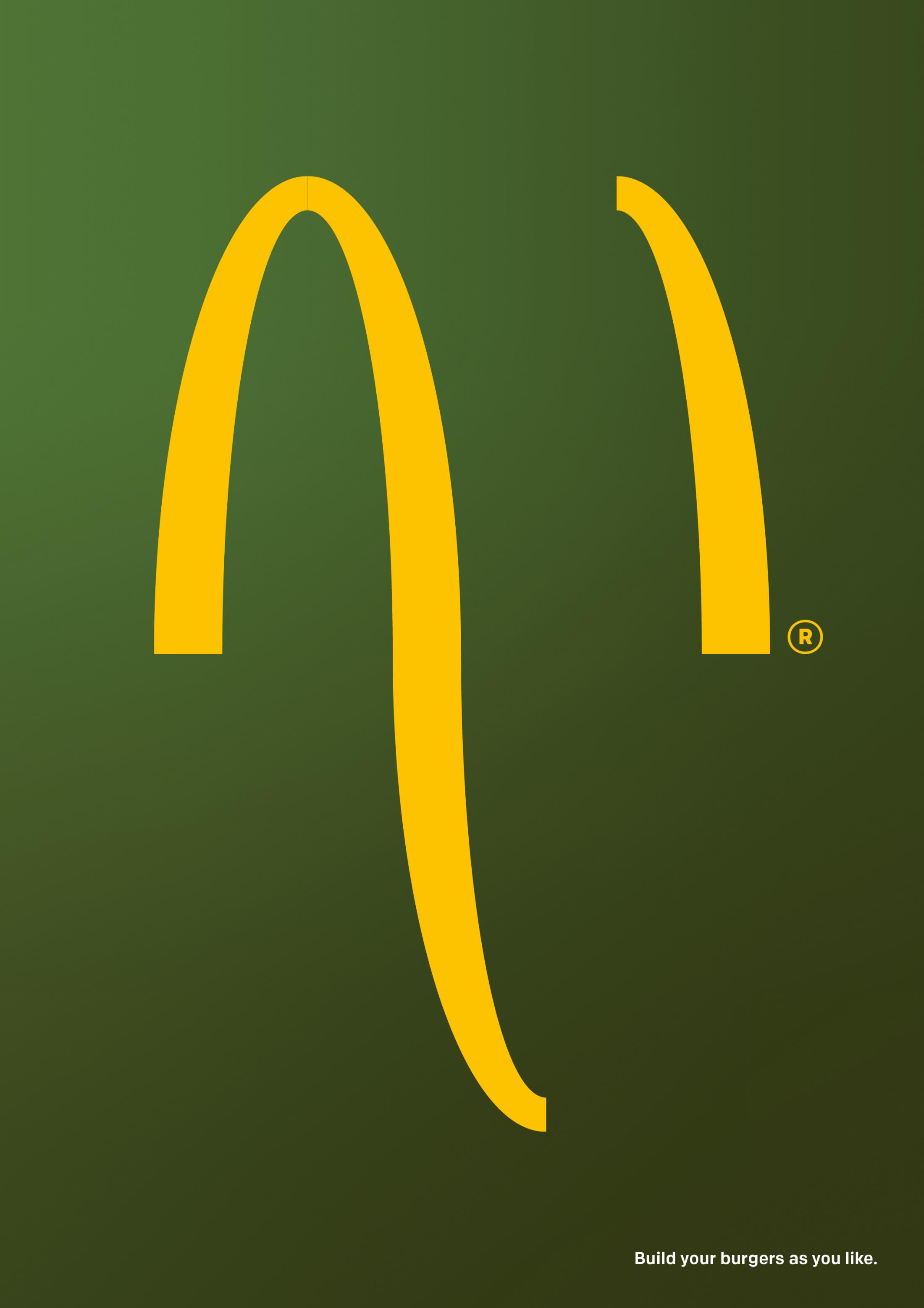 McDonald's Print Ad - Build As You Like, 2