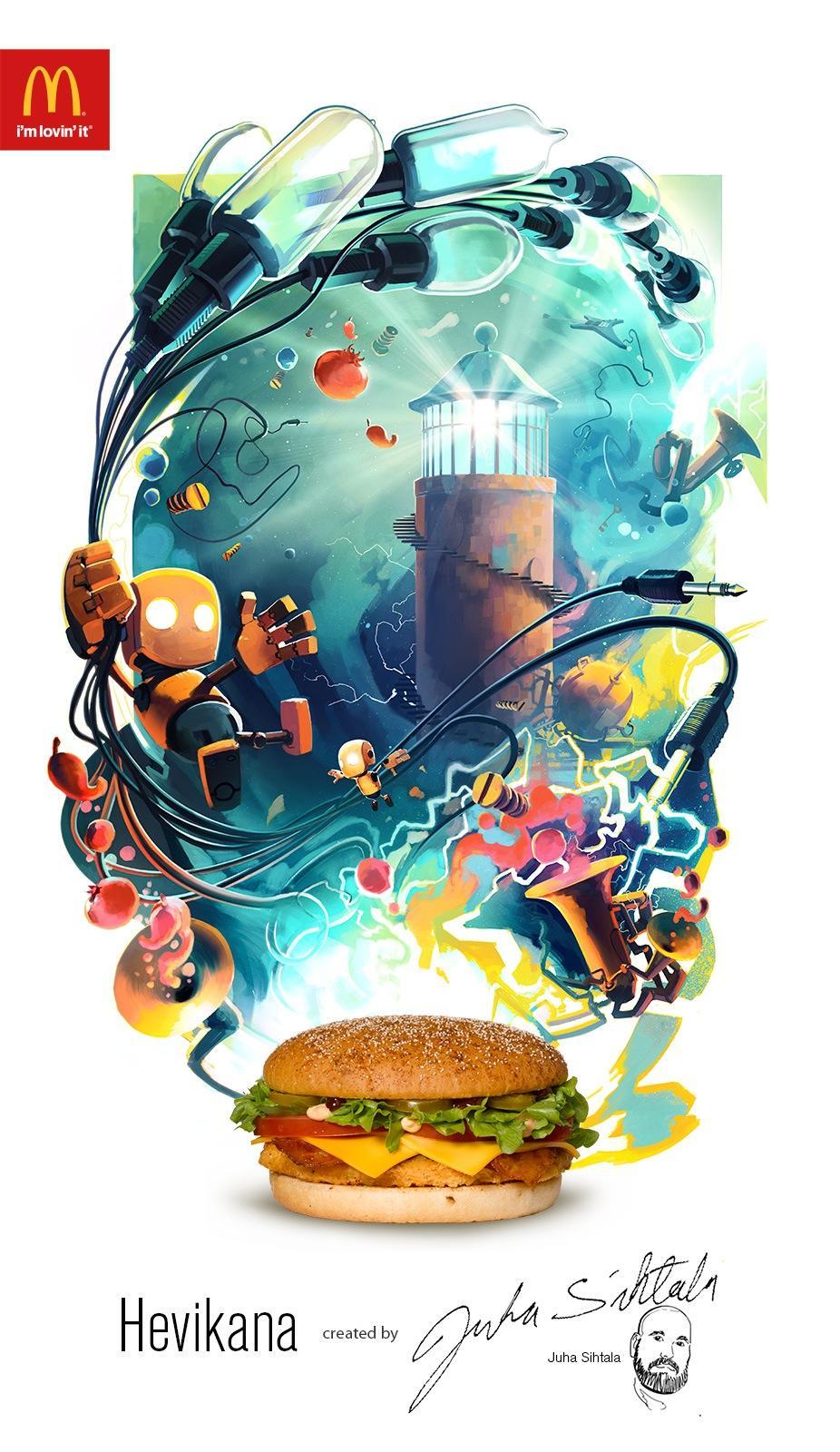 McDonald's Print Ad -  Hevikana print