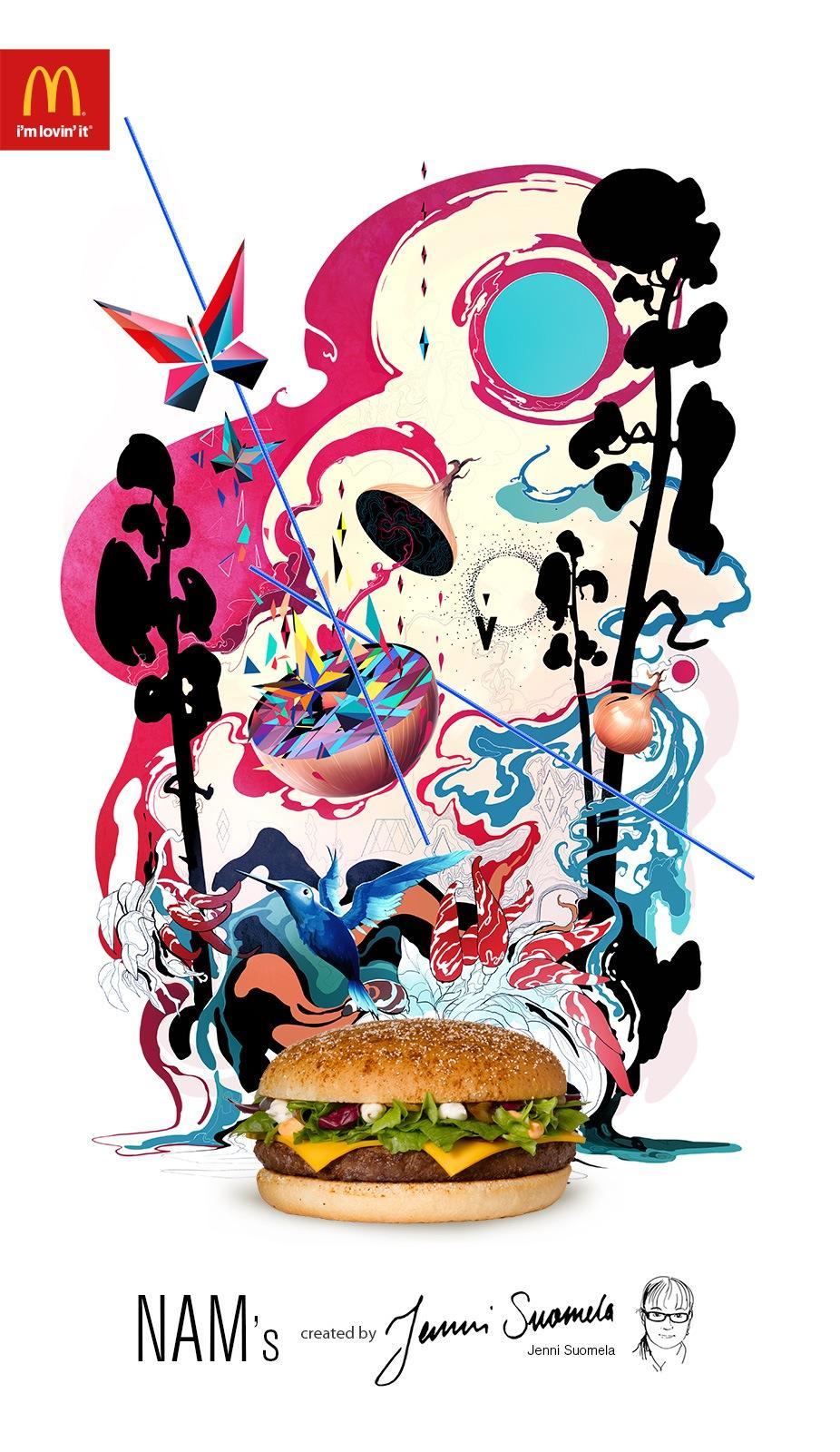 McDonald's Print Ad -  Nam's print