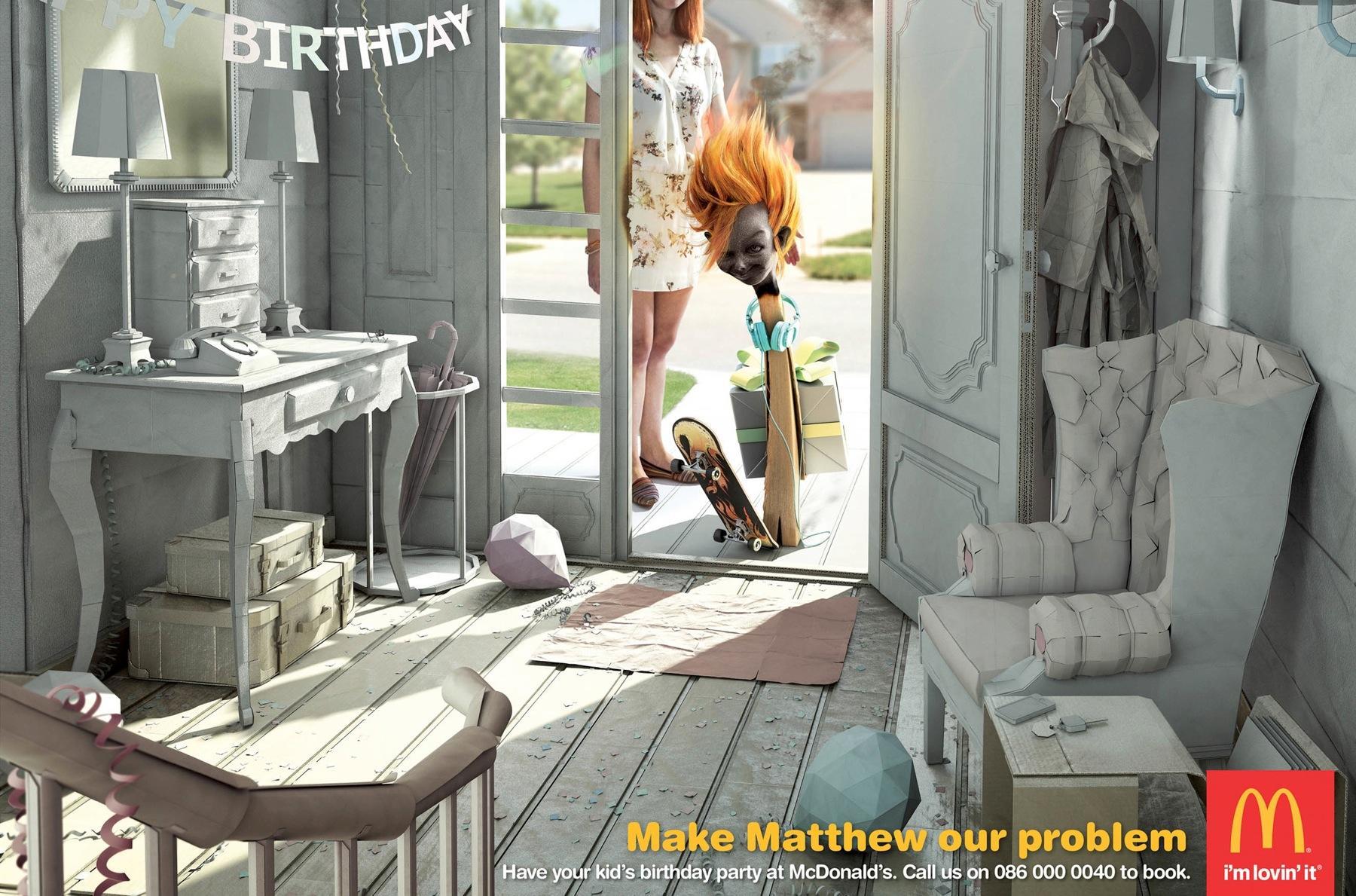 McDonald's Print Ad -  Matthew