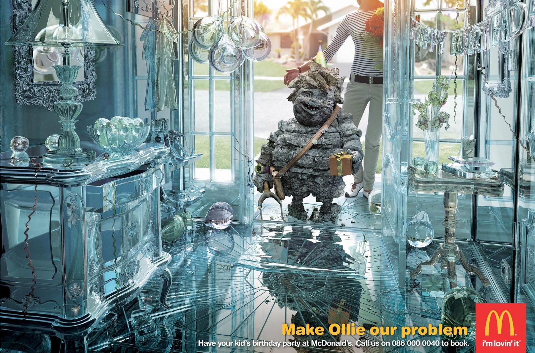 McDonald's Print Ad -  Ollie