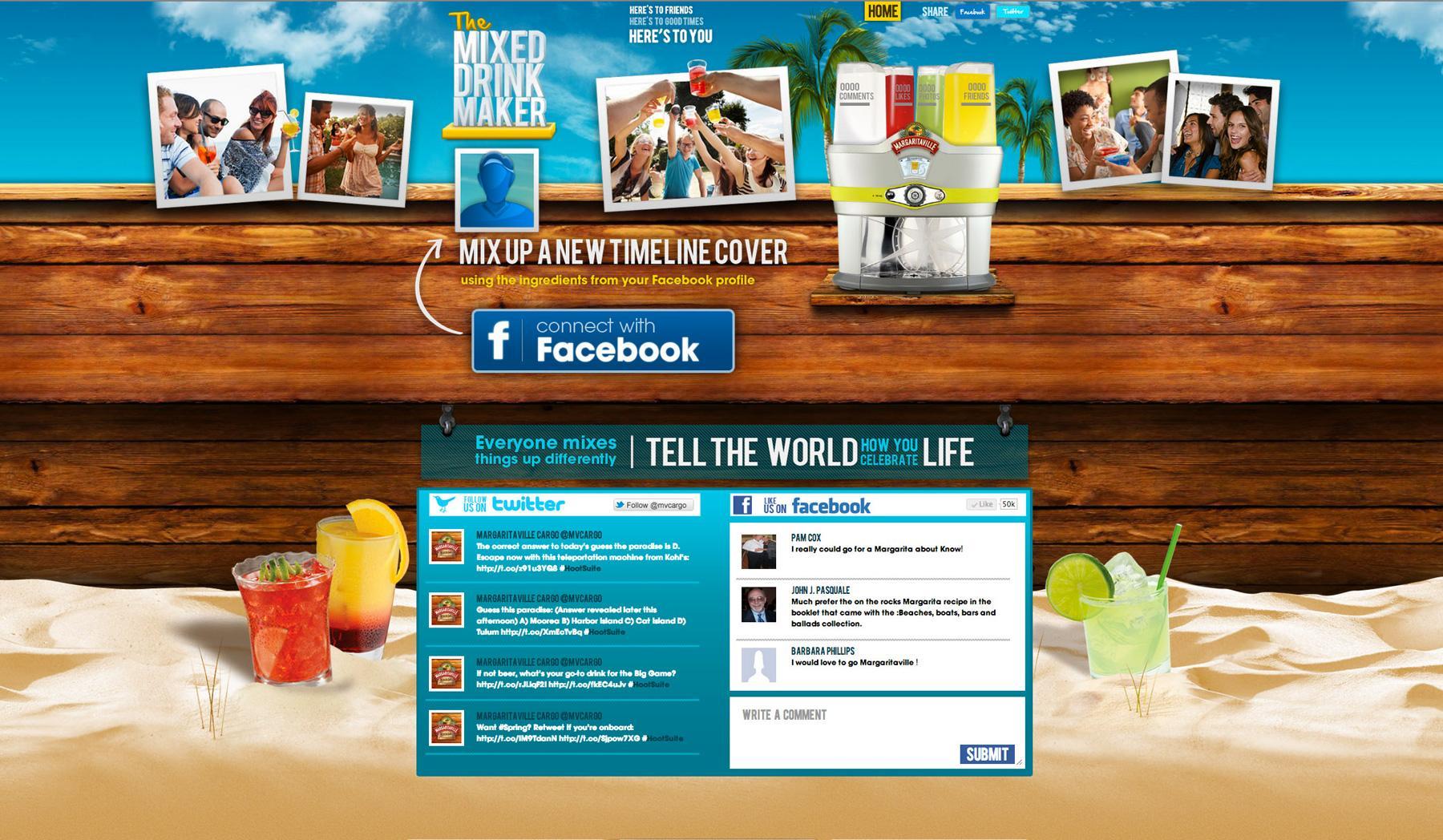 Margaritaville Digital Ad -  The Mixed Drink Maker