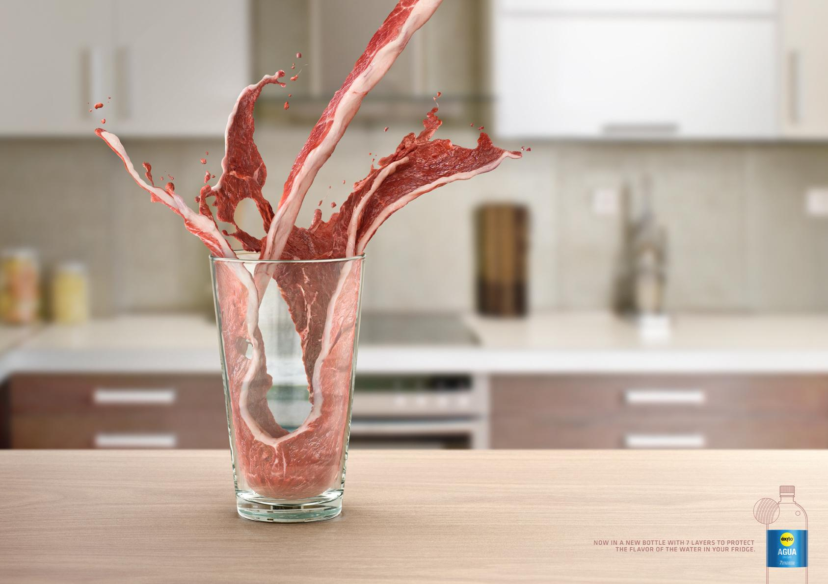 Éxito Print Ad -  Meat