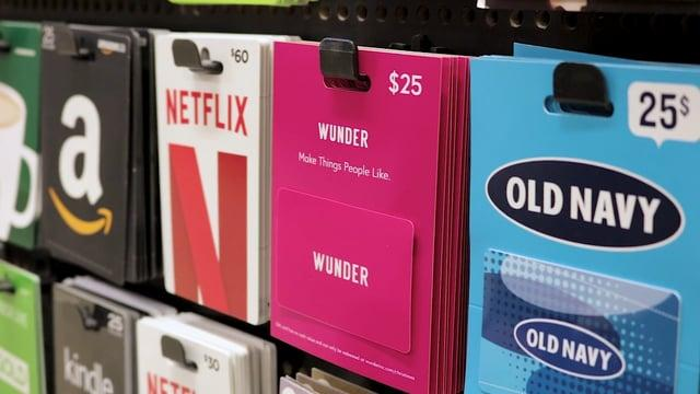 Wunder: Gift Card