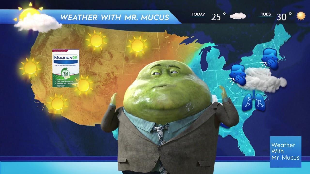 Mucinex: Mucus Report