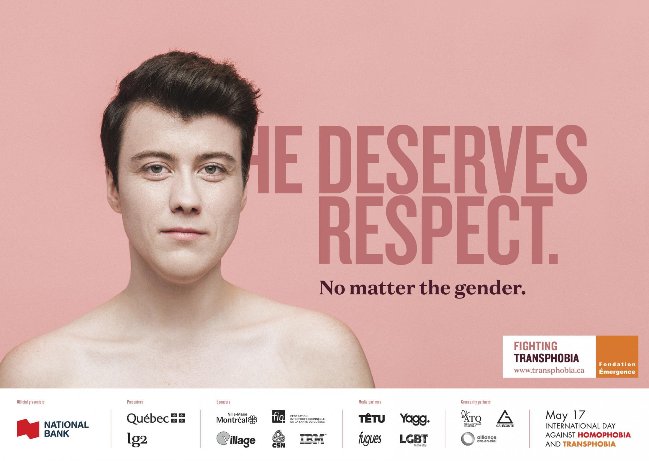 Fondation Emergence Print Ad - No Matter the Gender, 1