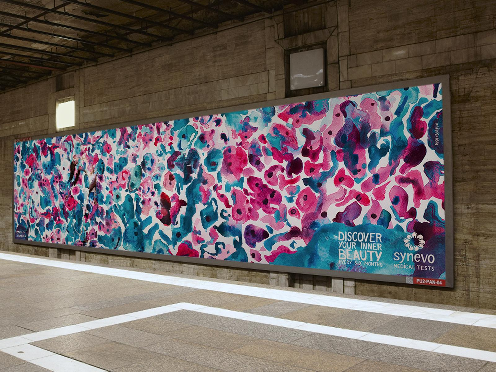 Synevo Medical Labs Outdoor Ad -  The Inner Beauty Exhibition, 3
