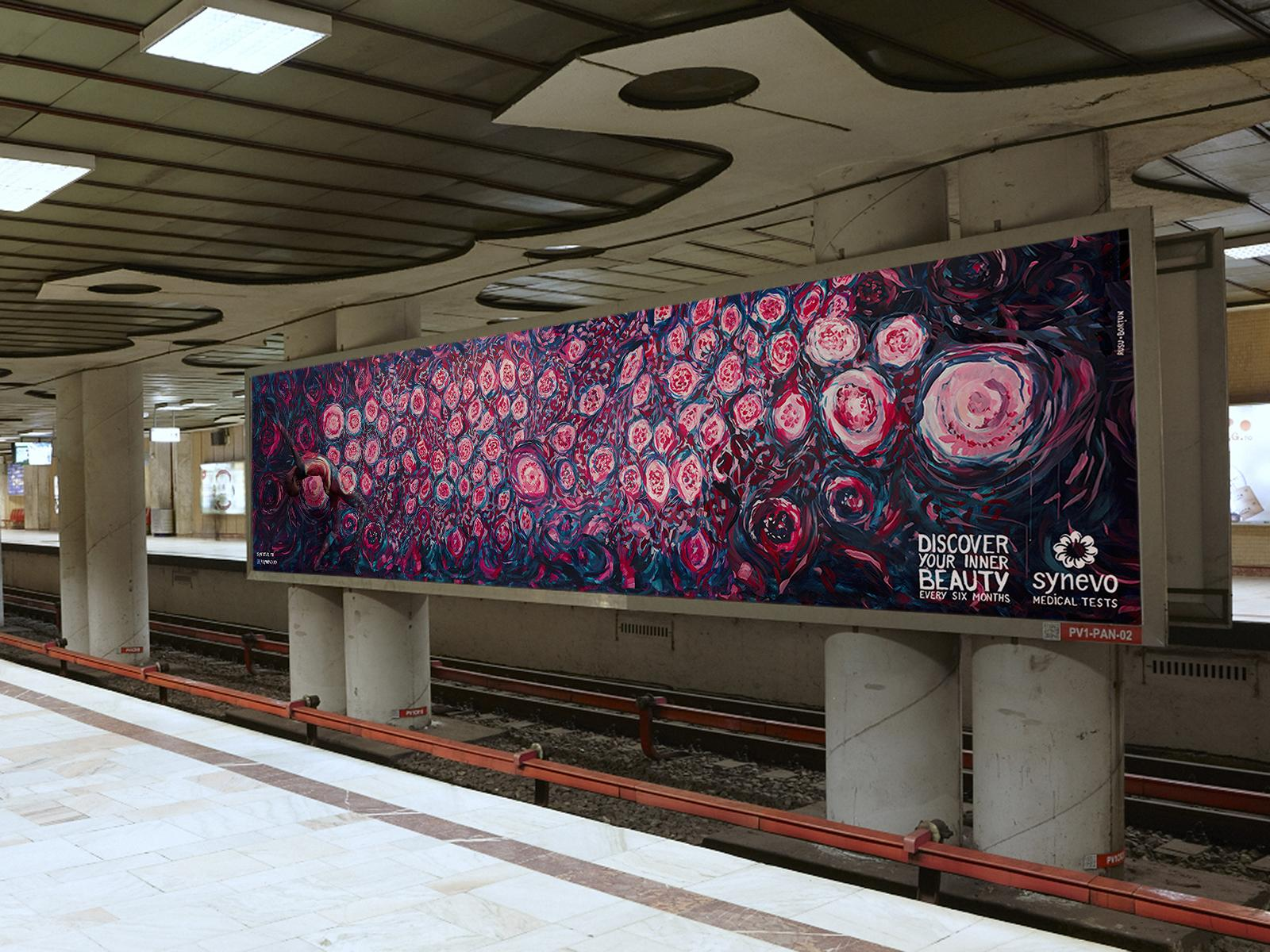Synevo Medical Labs Outdoor Ad -  The Inner Beauty Exhibition, 5