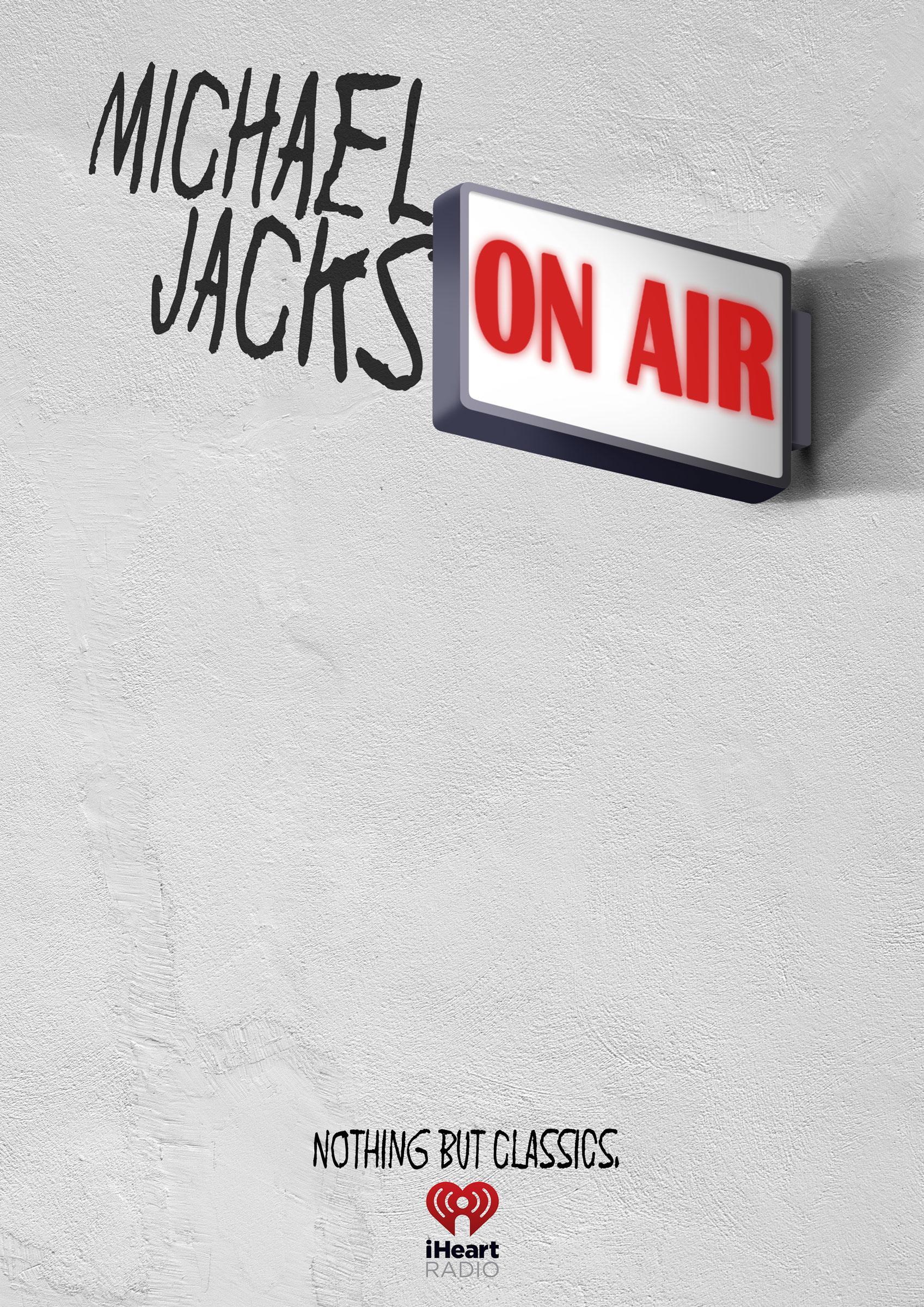 iHeart Radio Print Ad - Michael Jackson