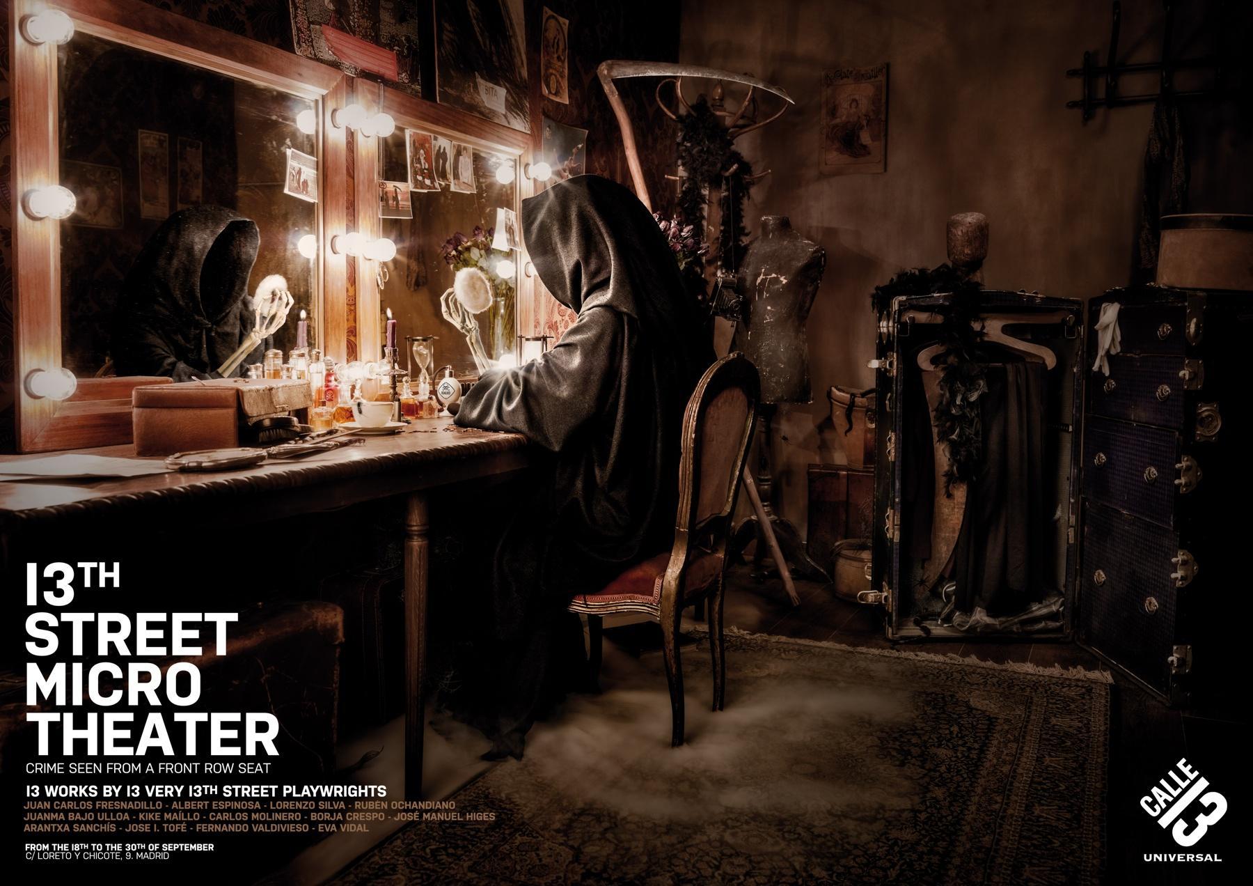 13th Street Print Ad -  Microtheater