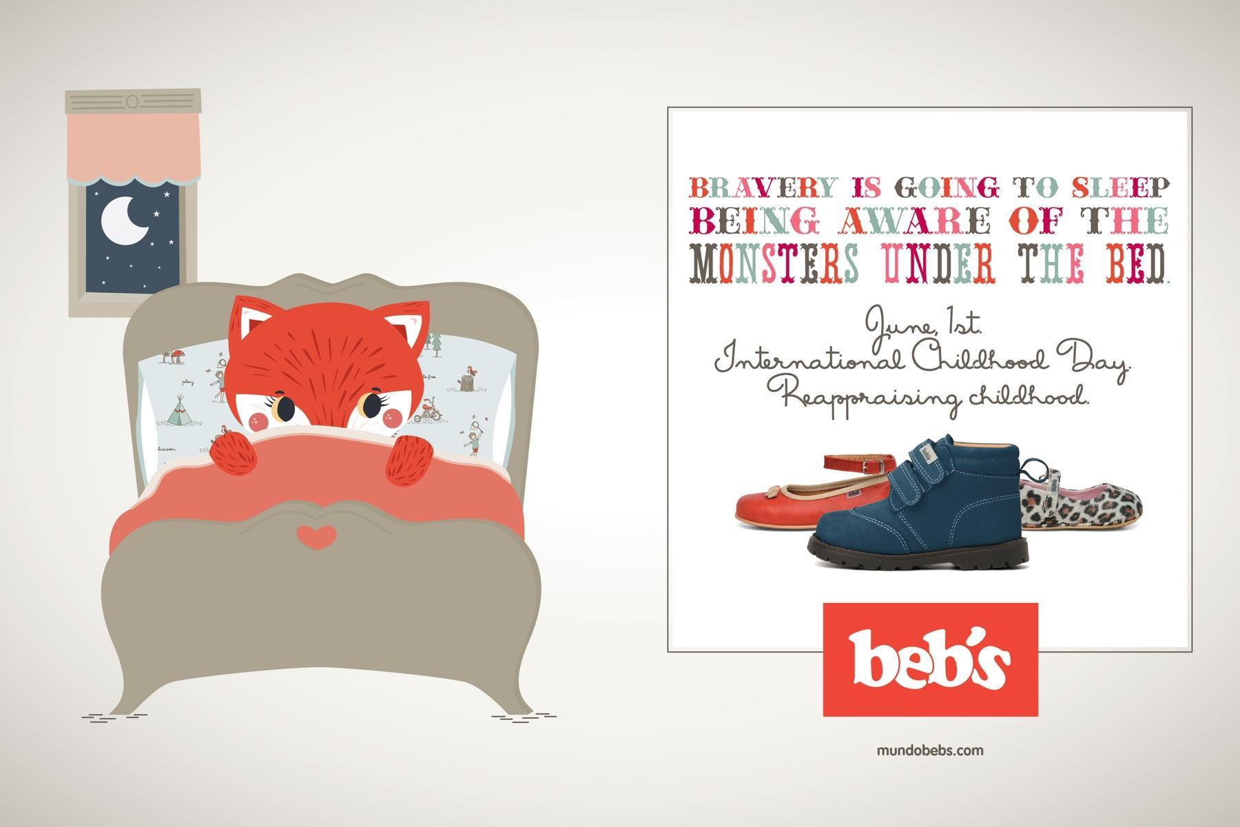Beb's Print Ad -  International Childhood Day