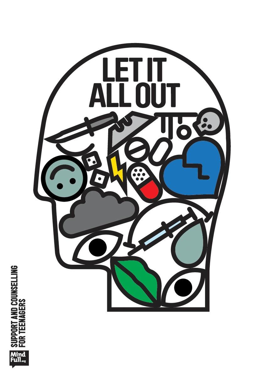 MindFull Outdoor Ad -  Let it all out, 1