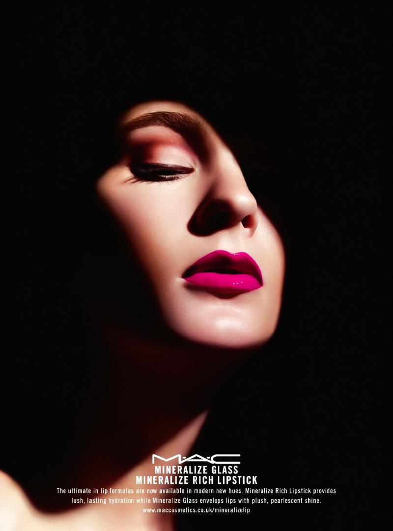 Mac Cosmetic Lipstick Fresh Brew 100 Authentic: MAC Print Advert By Y&R: Mineralize, 1