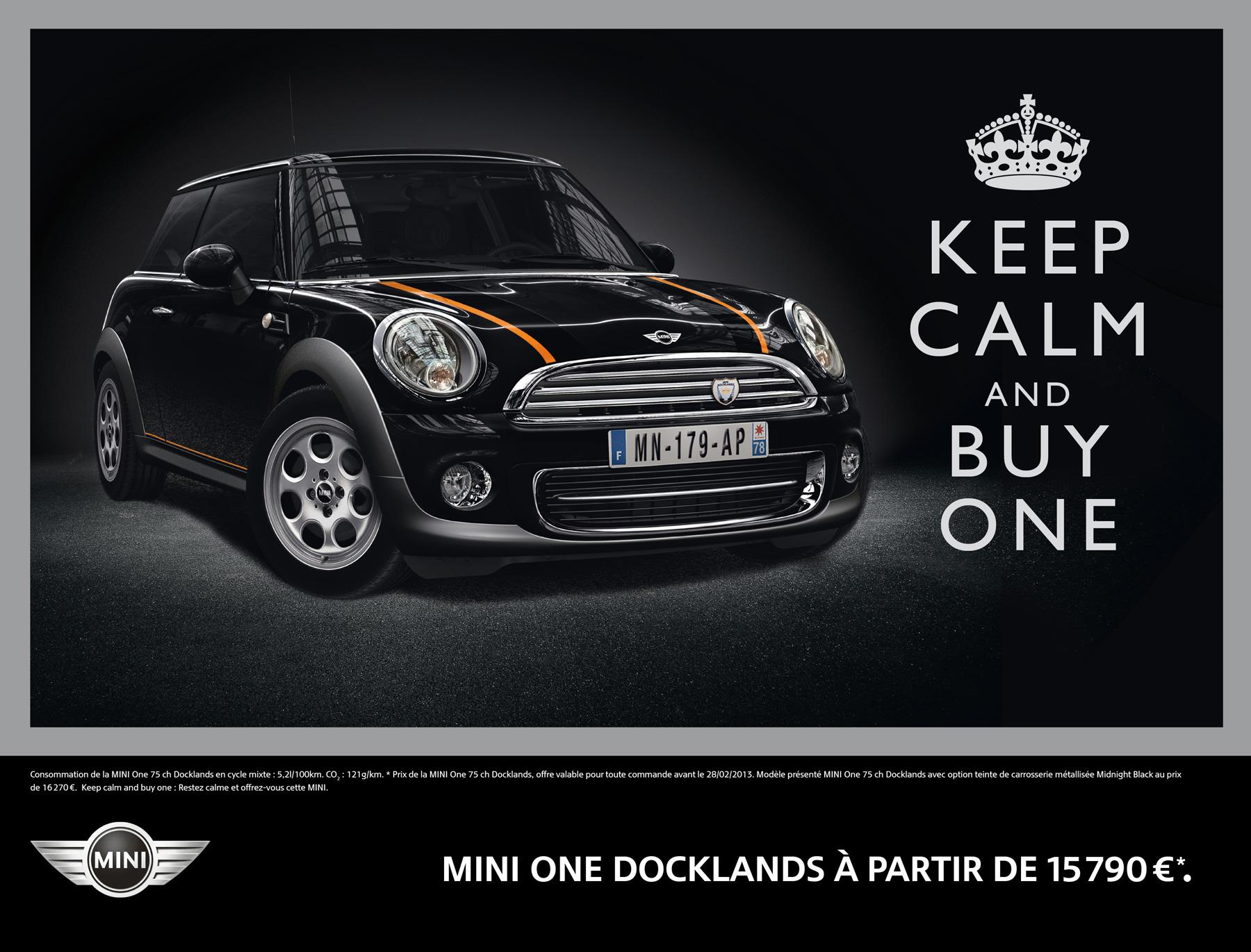 Mini Print Ad -  Keep calm