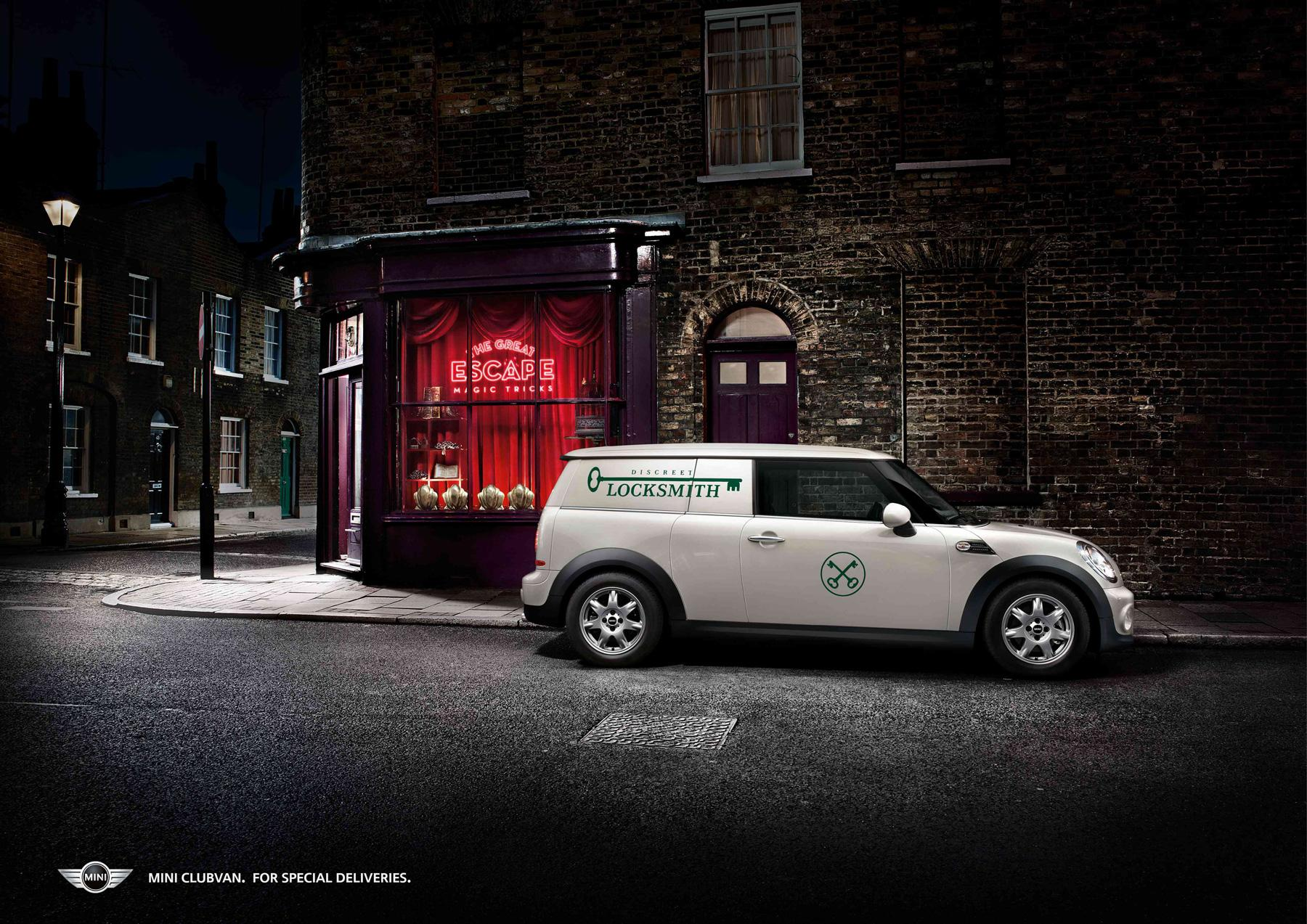 Mini Print Ad -  Locksmith