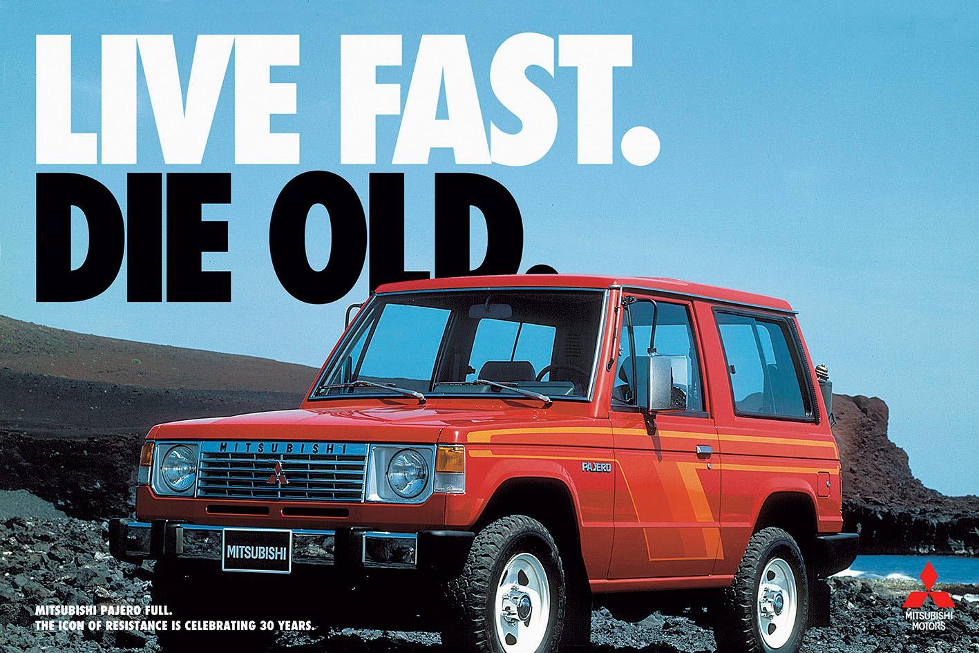 Mitsubishi Print Ad -  Live fast