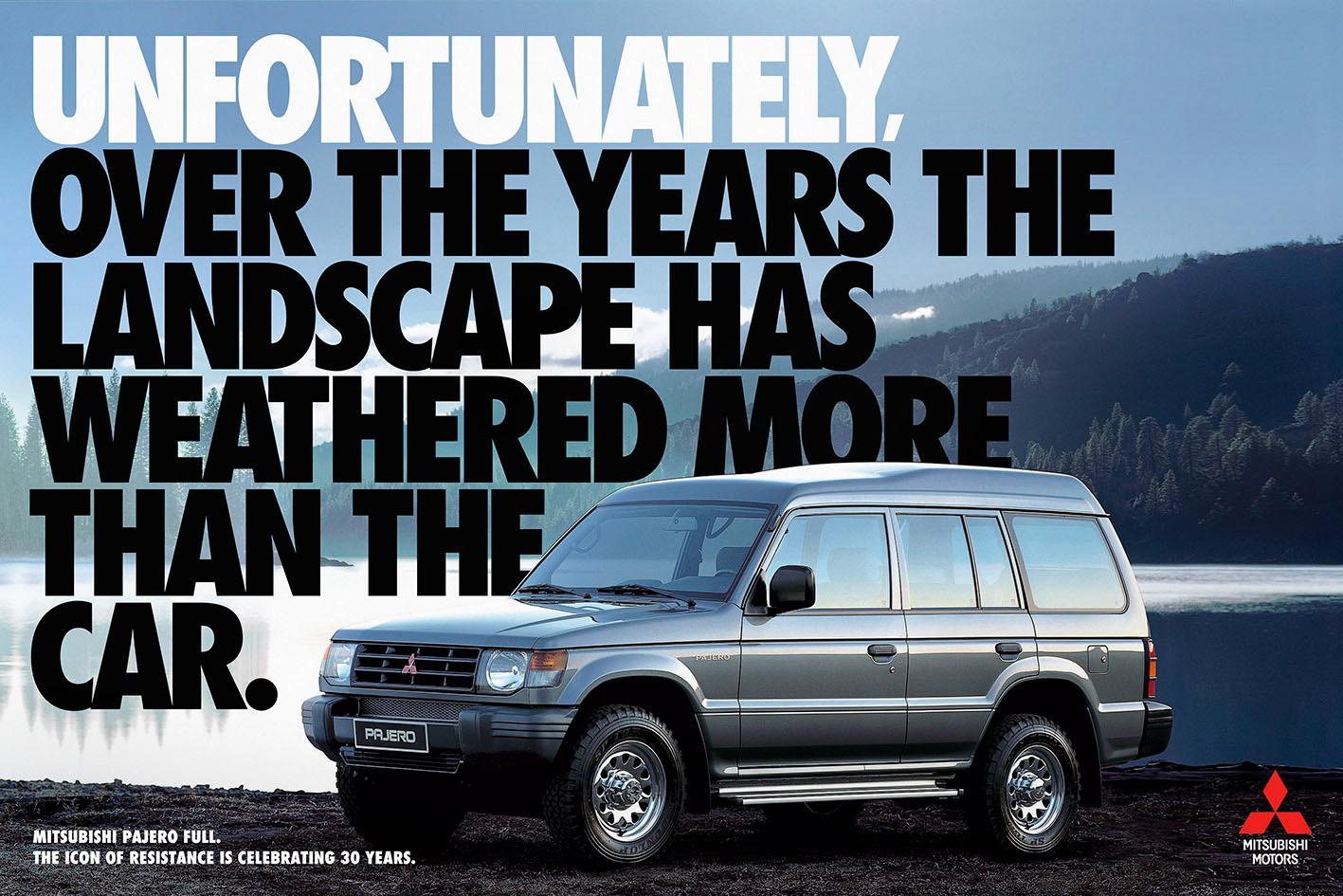 Mitsubishi Print Ad -  Landscape