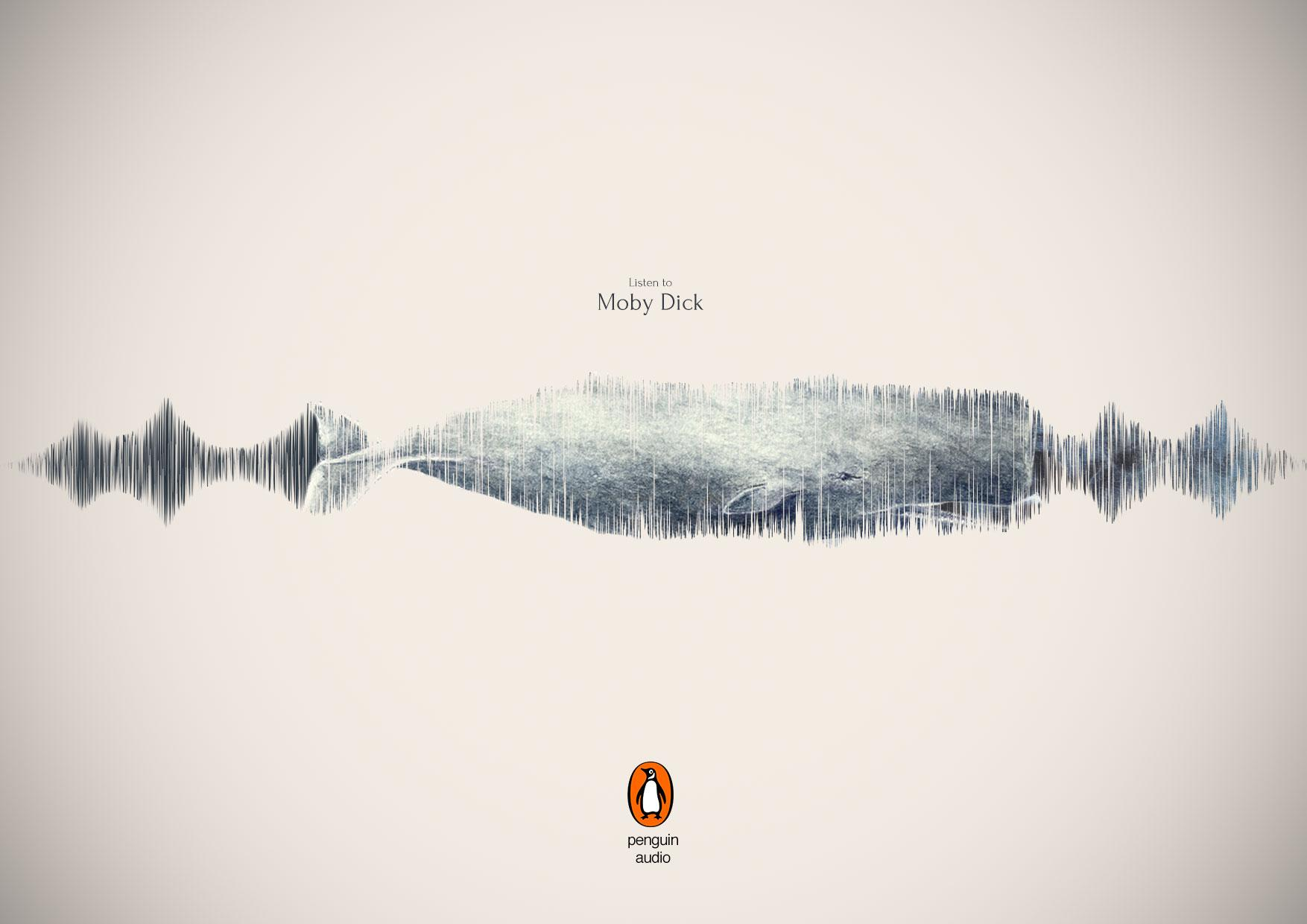 Penguin Print Ad - Moby Dick