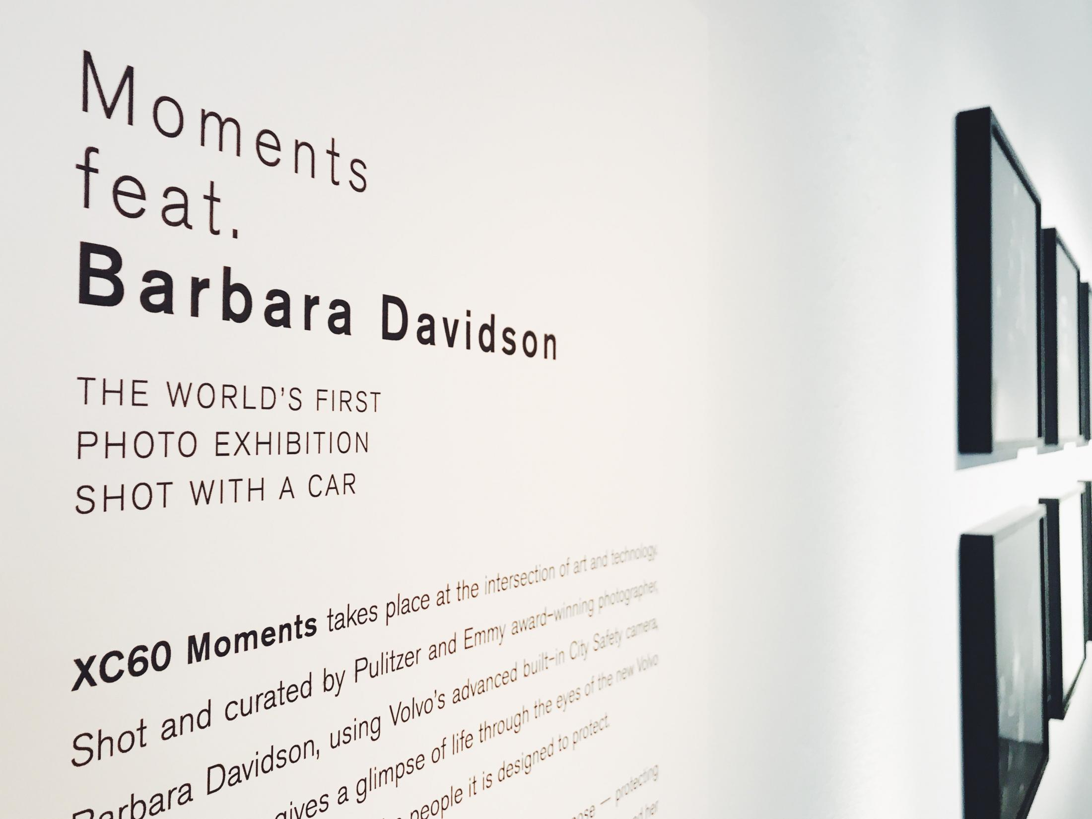 Volvo Experiential Ad - Moments Feat. Barbara Davidson