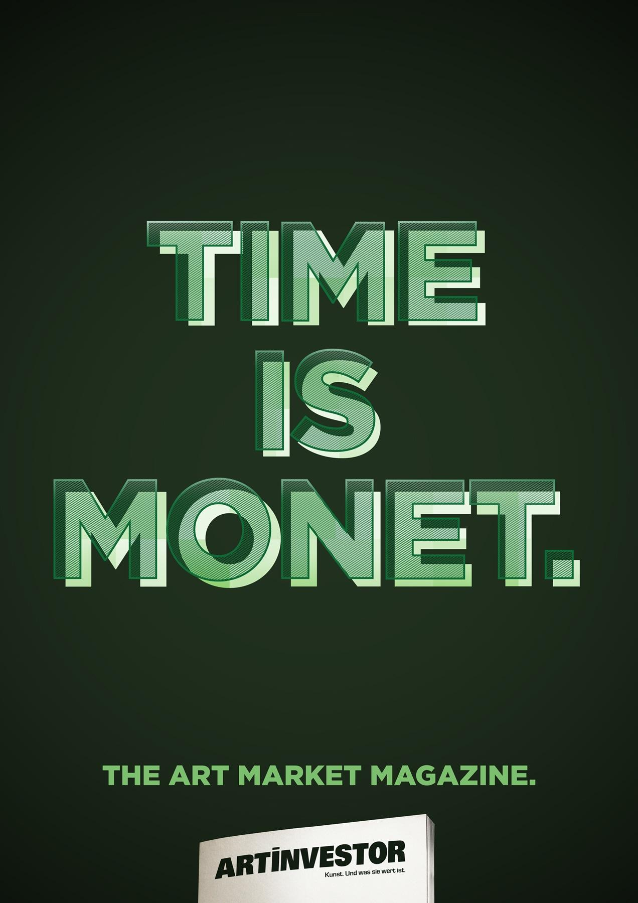 Artinvestor Print Ad -  Monet