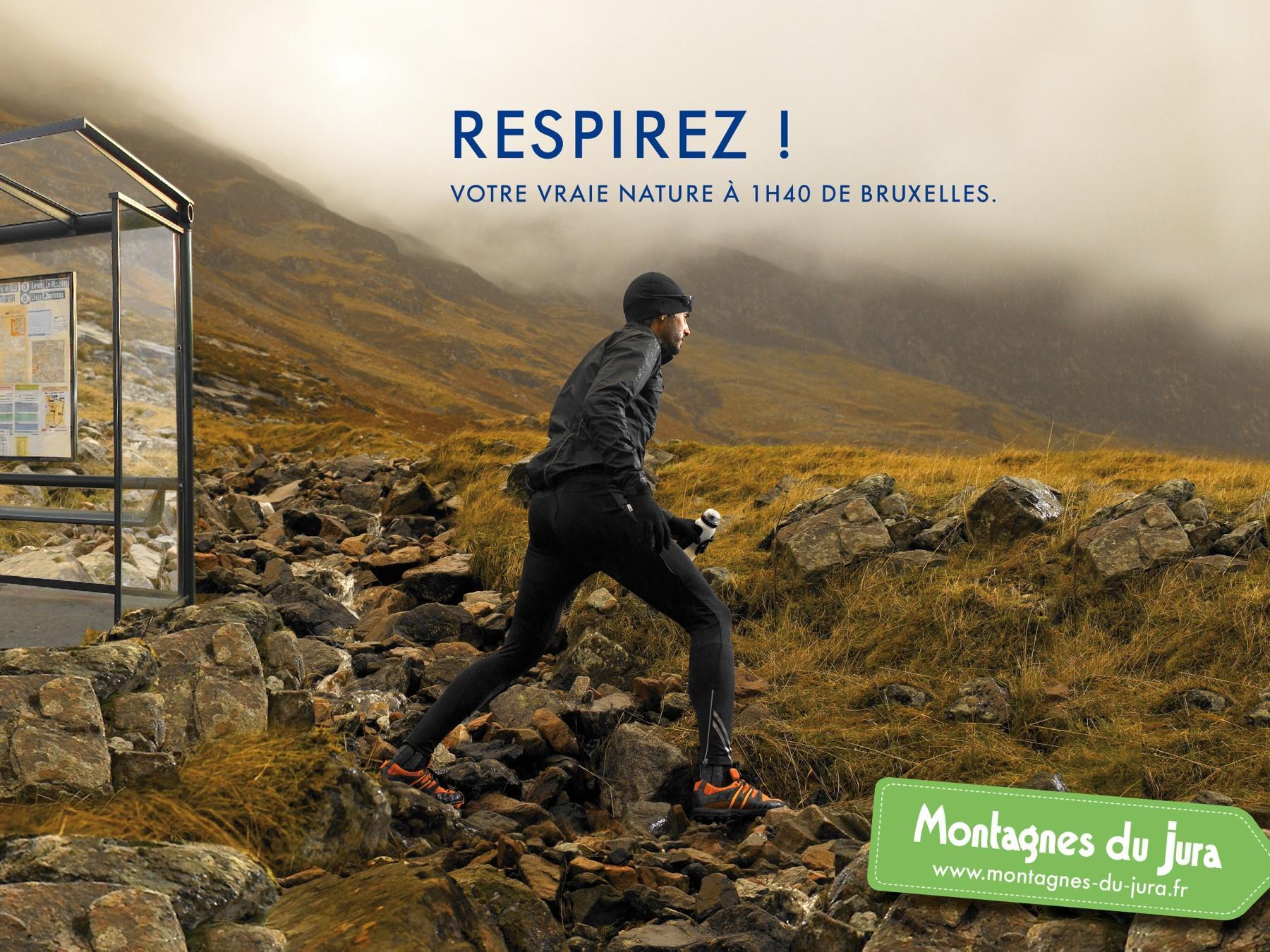 JURA mountain Print Ad -  Bruxelles