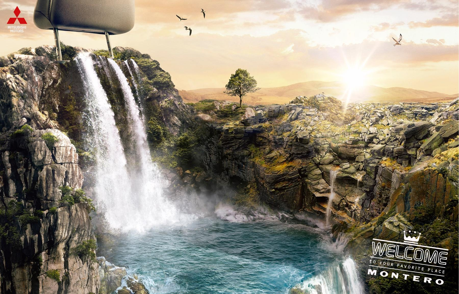 Mitsubishi Print Ad -  Welcome to your favorite place