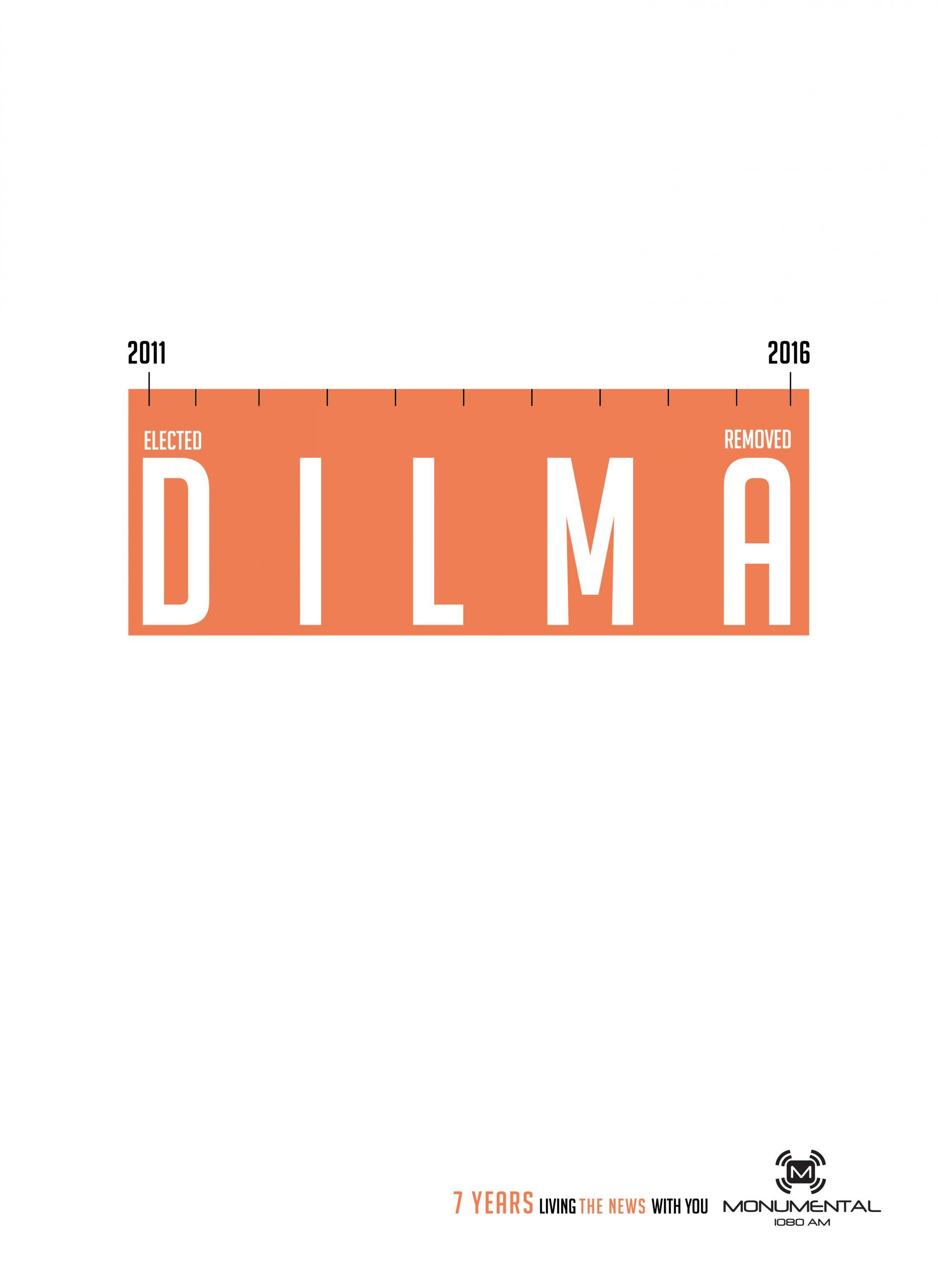Monumental Print Ad - Monumental 7th Anniversary - Dilma