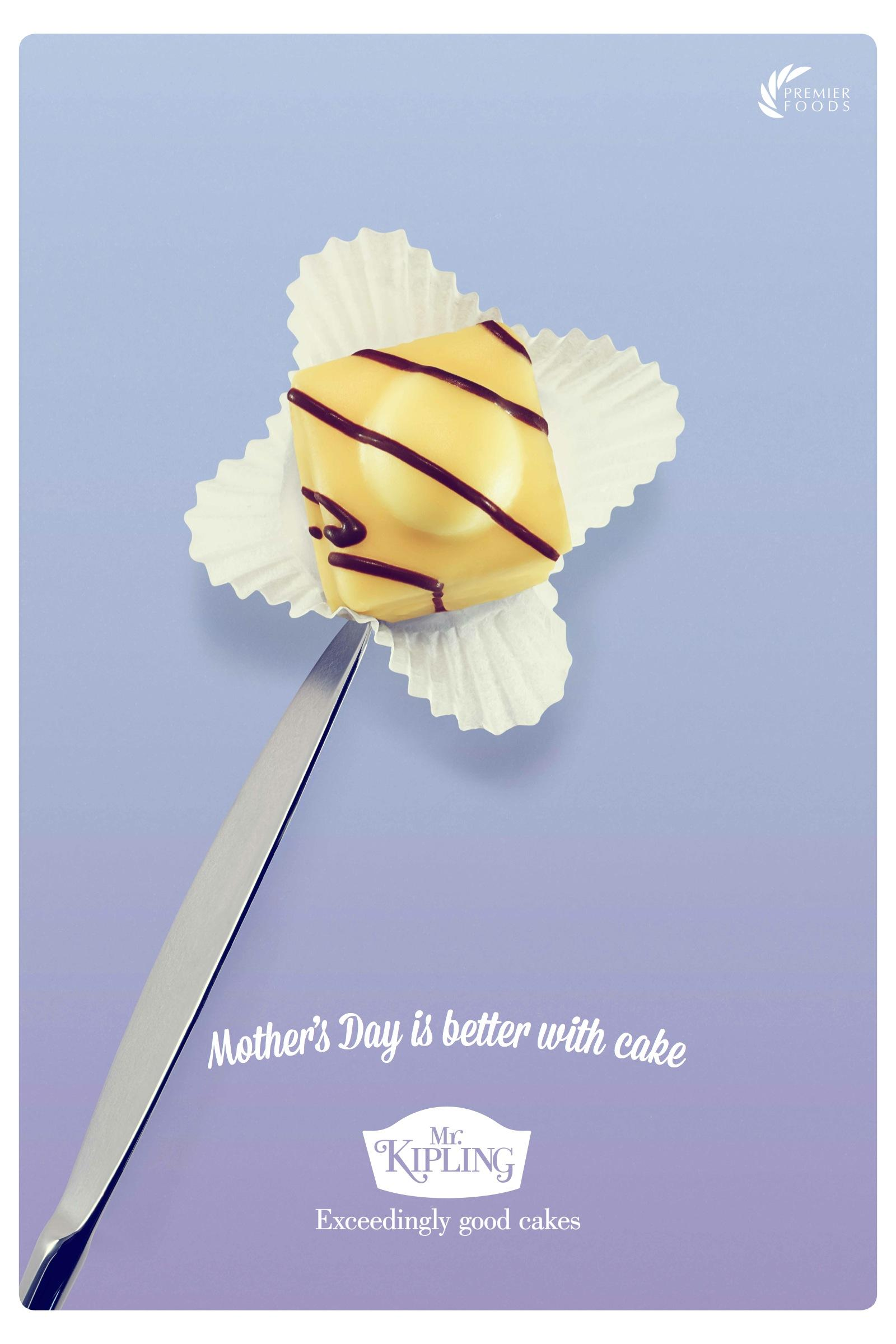 Mr Kipling Outdoor Ad -  Mother's Day