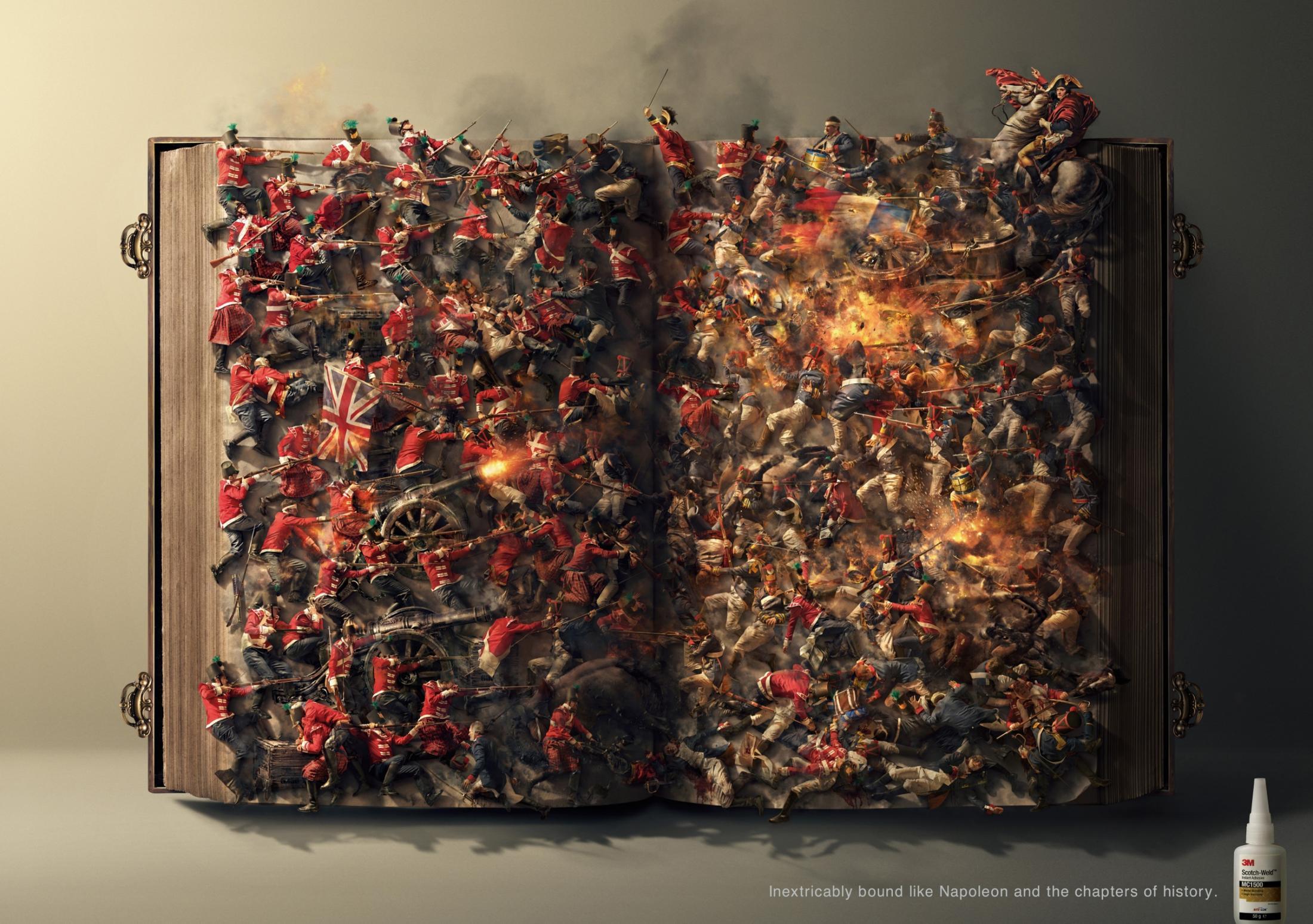 3M Print Ad -  Napoleon