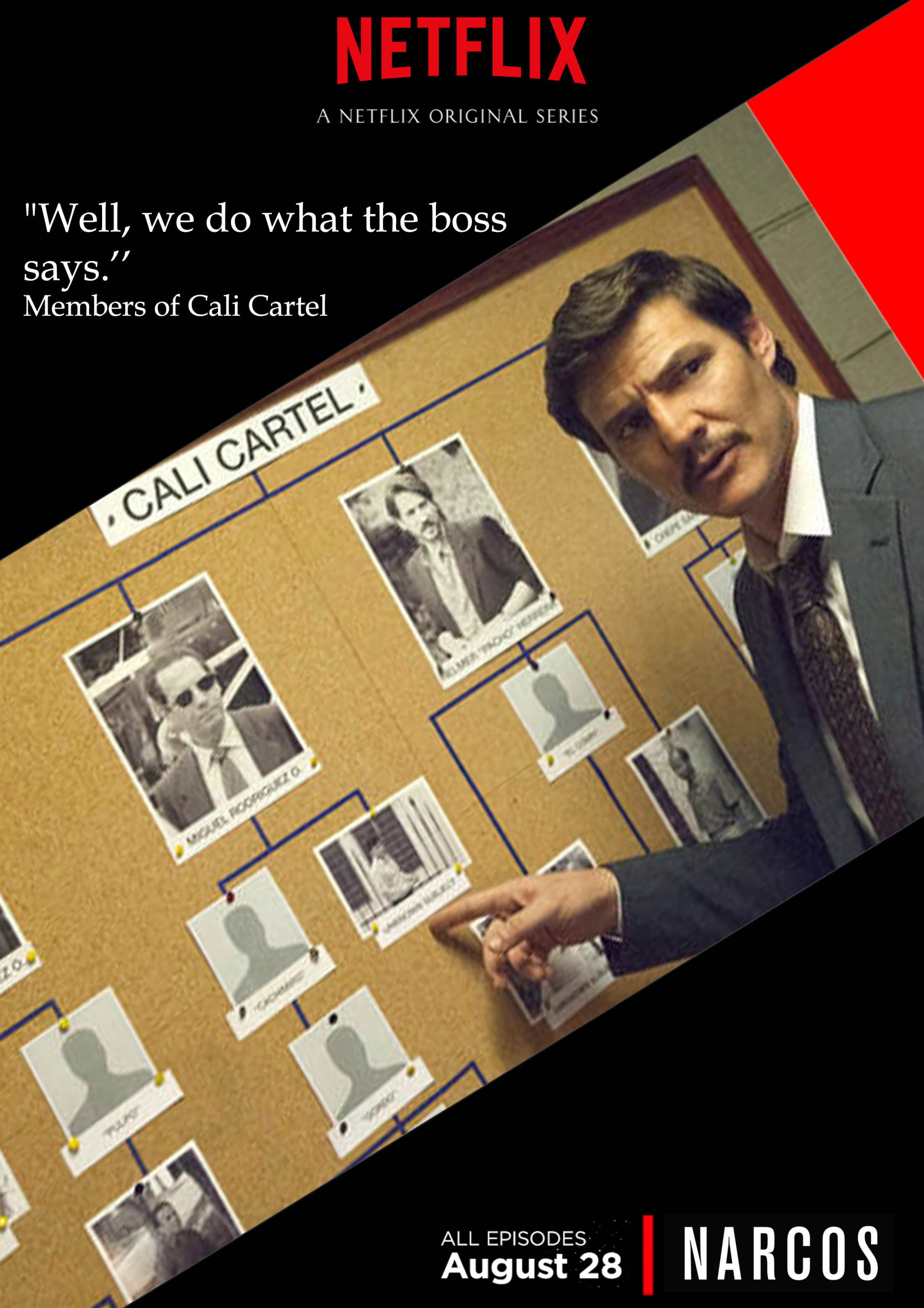 Netflix Print Ad - Narcos, 2
