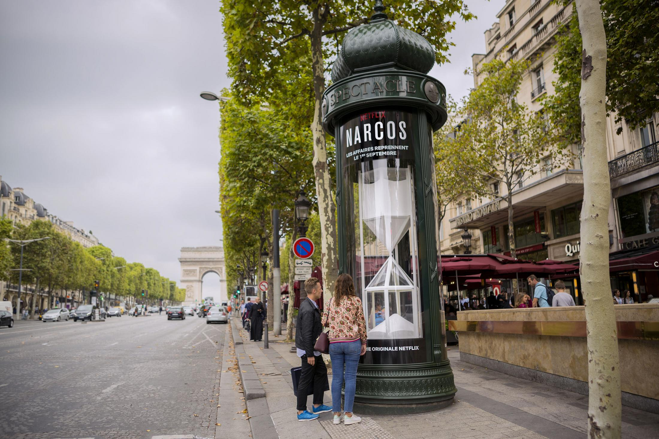 Netflix Outdoor Advert By Narcos Season 3 The White