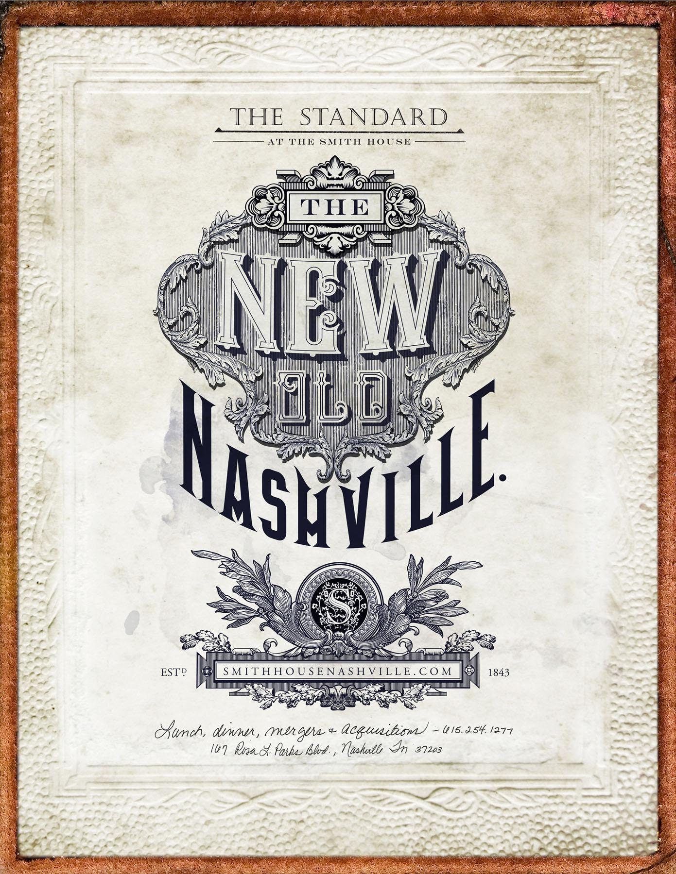 The Standard Print Ad -  New old Nashville