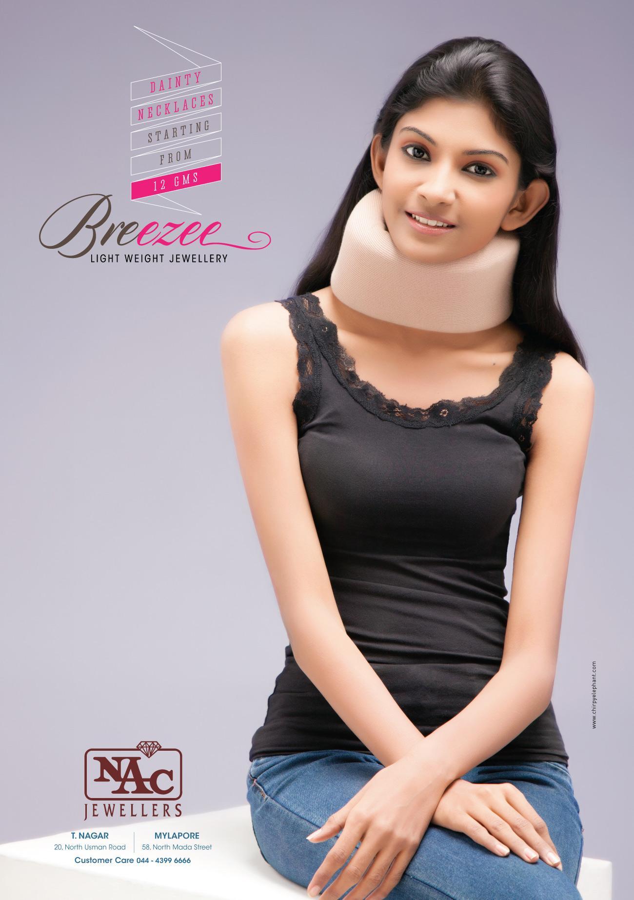 Breezee Print Ad -  Neck