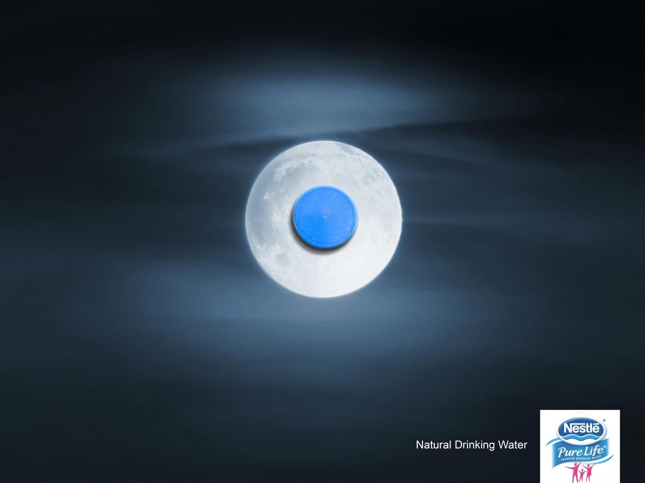 Nestle Print Ad -  Moon