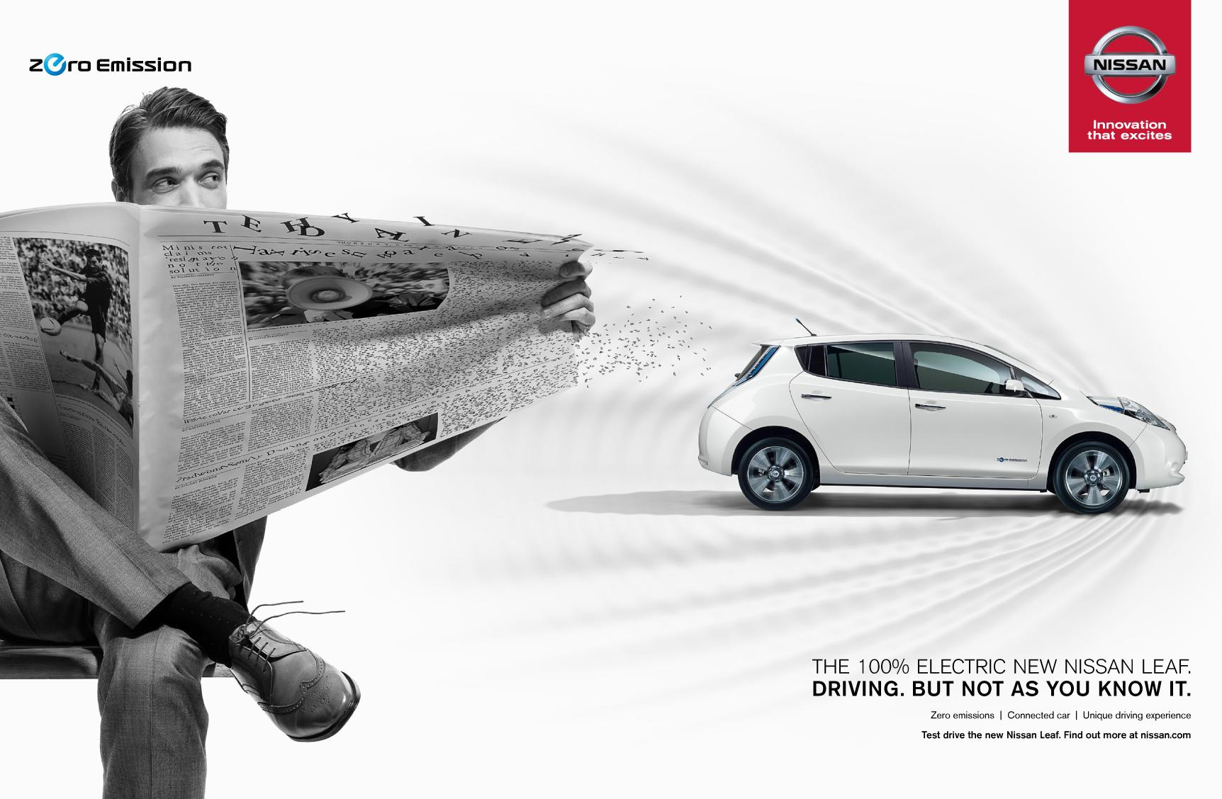 Nissan Print Ad -  Feel the Surge, Guy