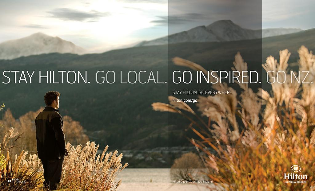 Hilton Print Ad -  New Zealand, 2