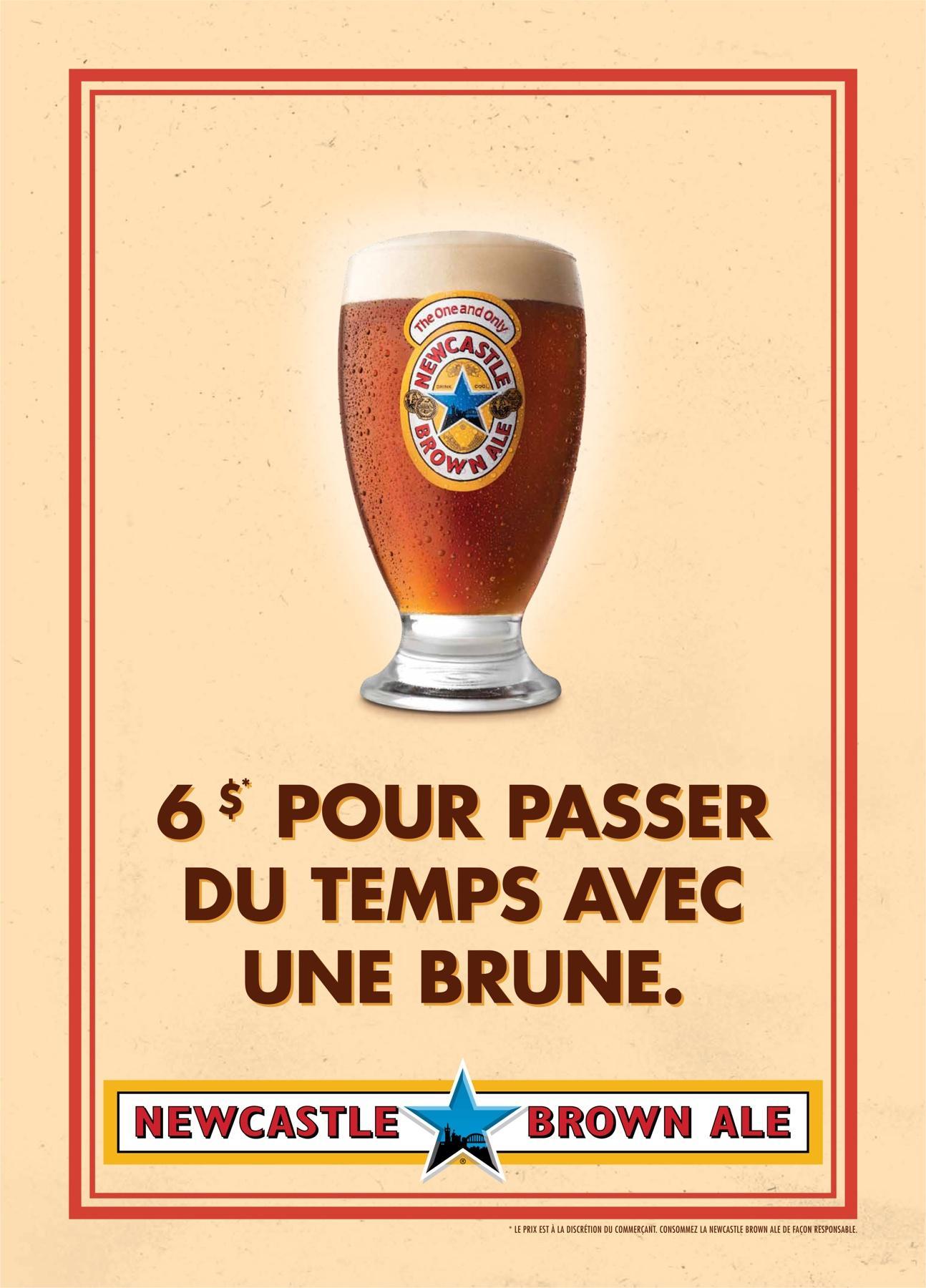 Newcastle Brown Ale Print Ad -  No Bollocks, 5