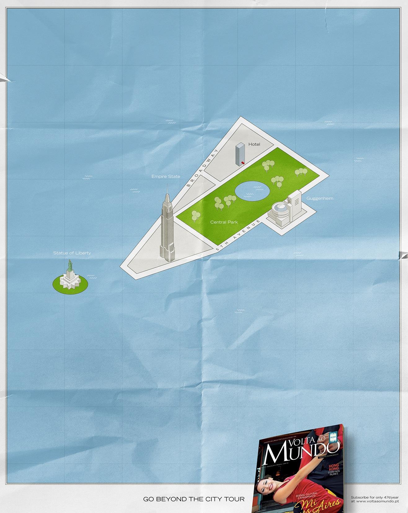 Volta Ao Mundo Print Ad -  New York