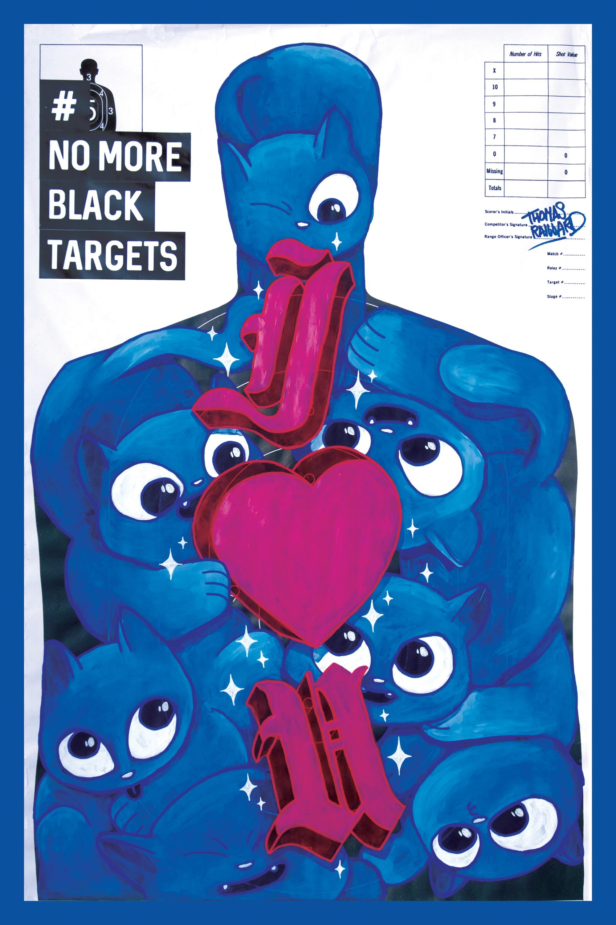 New York Society for Ethical Culture Integrated Ad - #Nomoreblacktargets