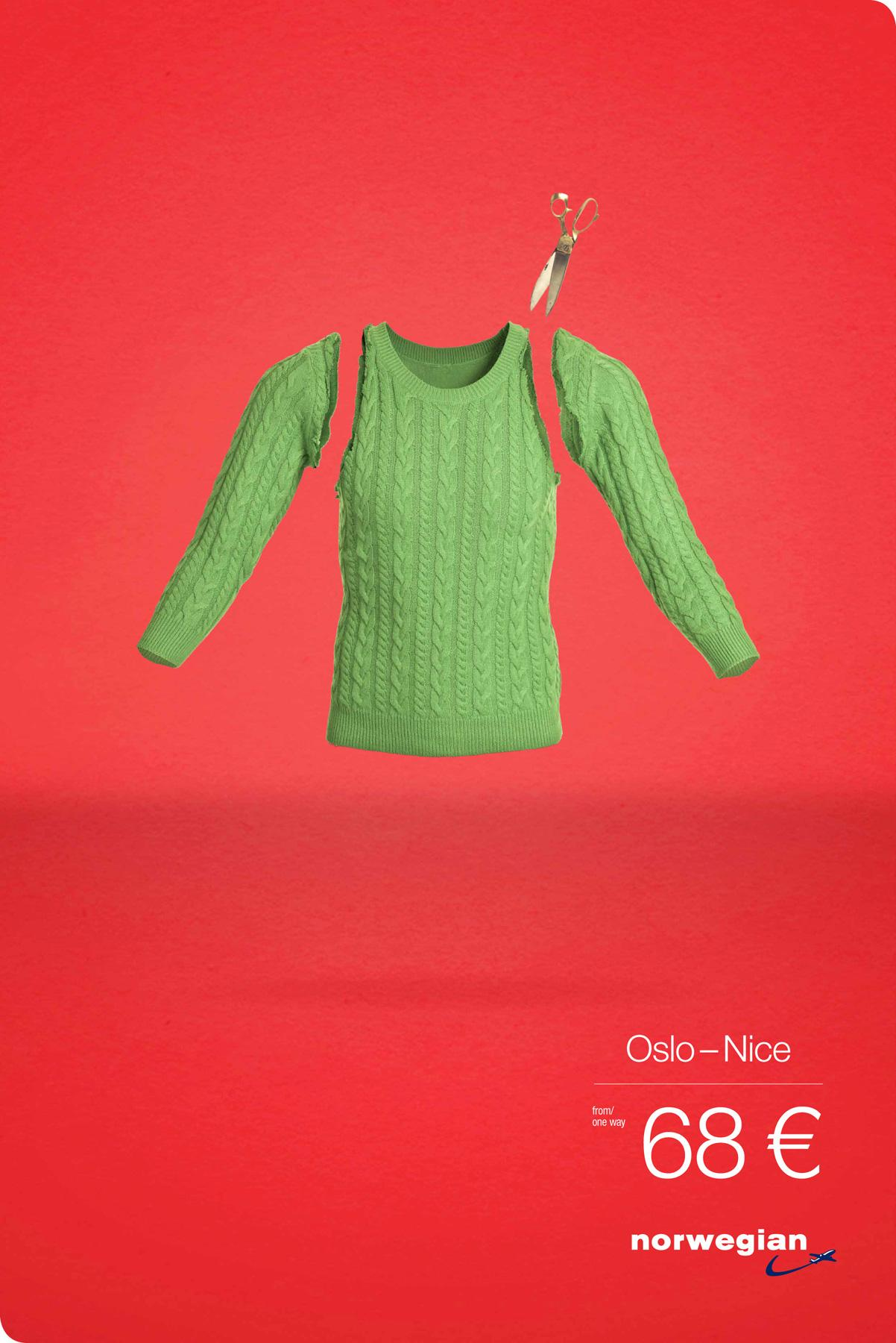 Norwegian Print Ad -  From Cold To Hot, 1