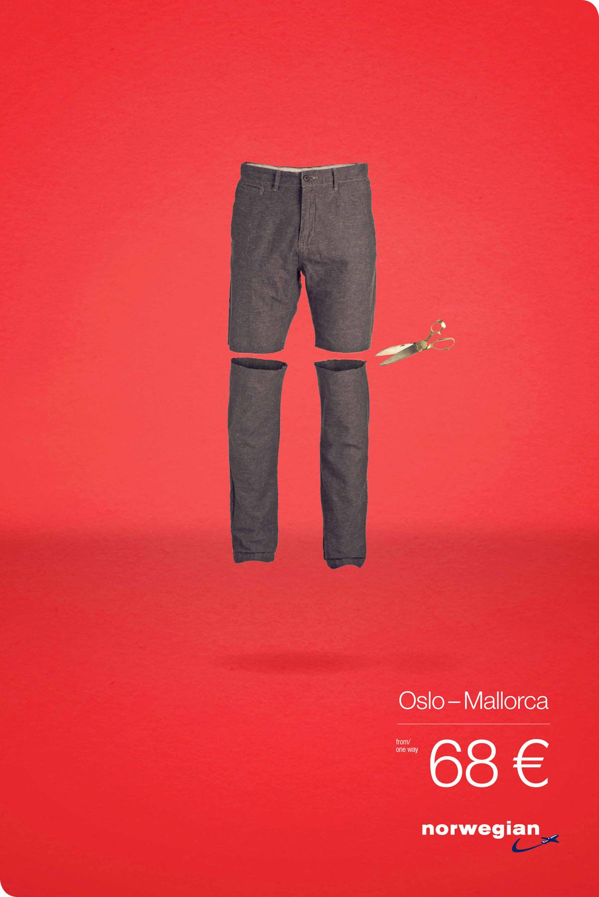 Norwegian Print Ad -  From Cold To Hot, 2
