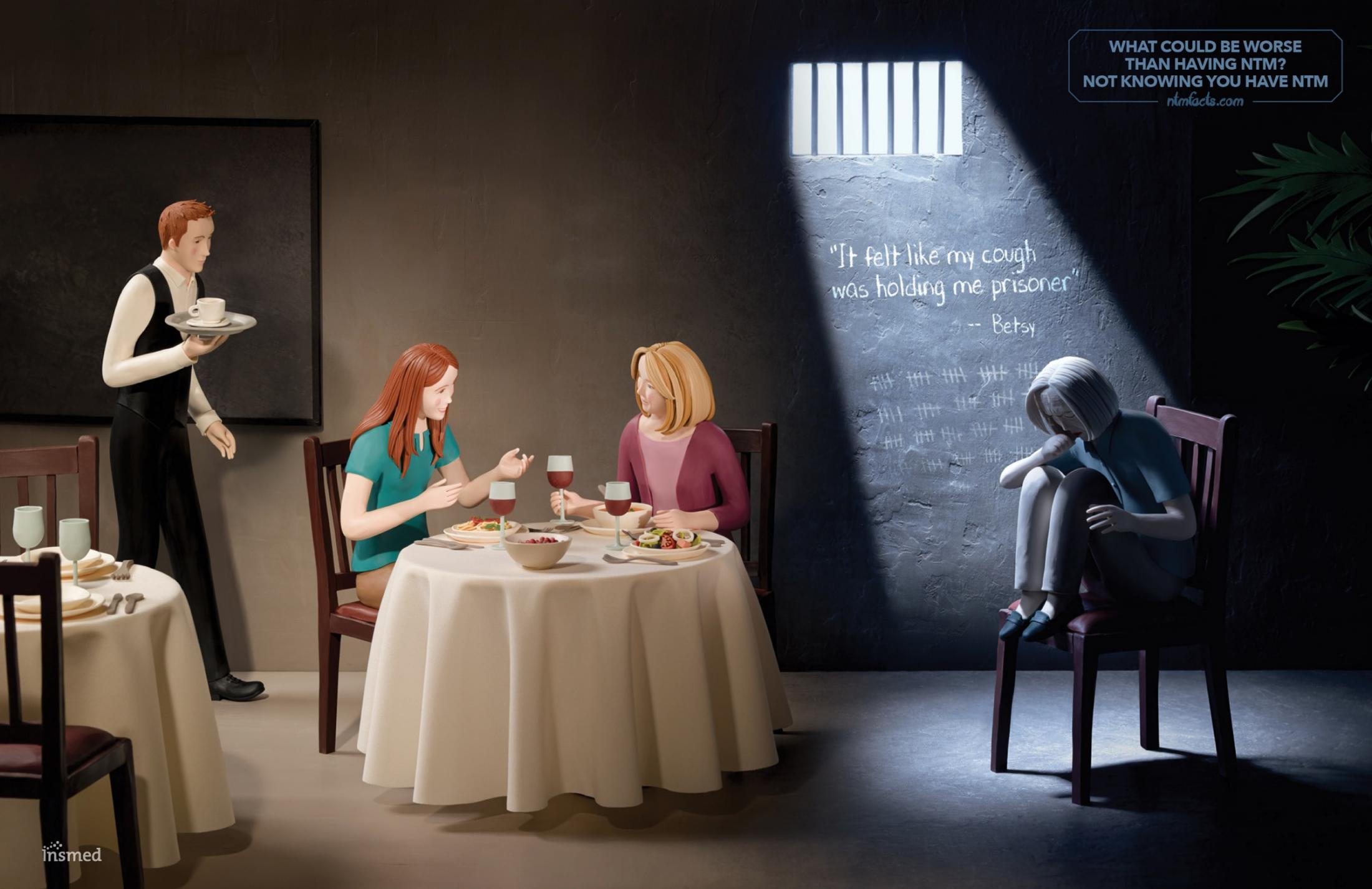 NTM Awareness Print Ad -  Prison