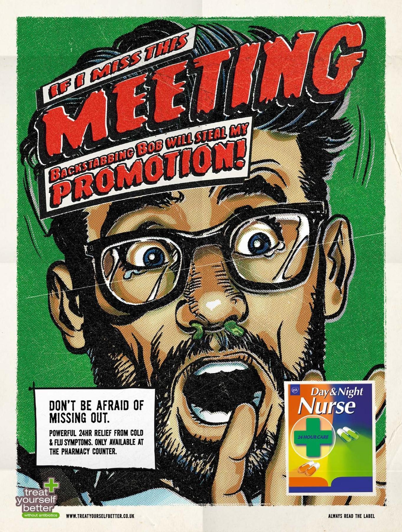 Day & Night Print Ad -  Meeting