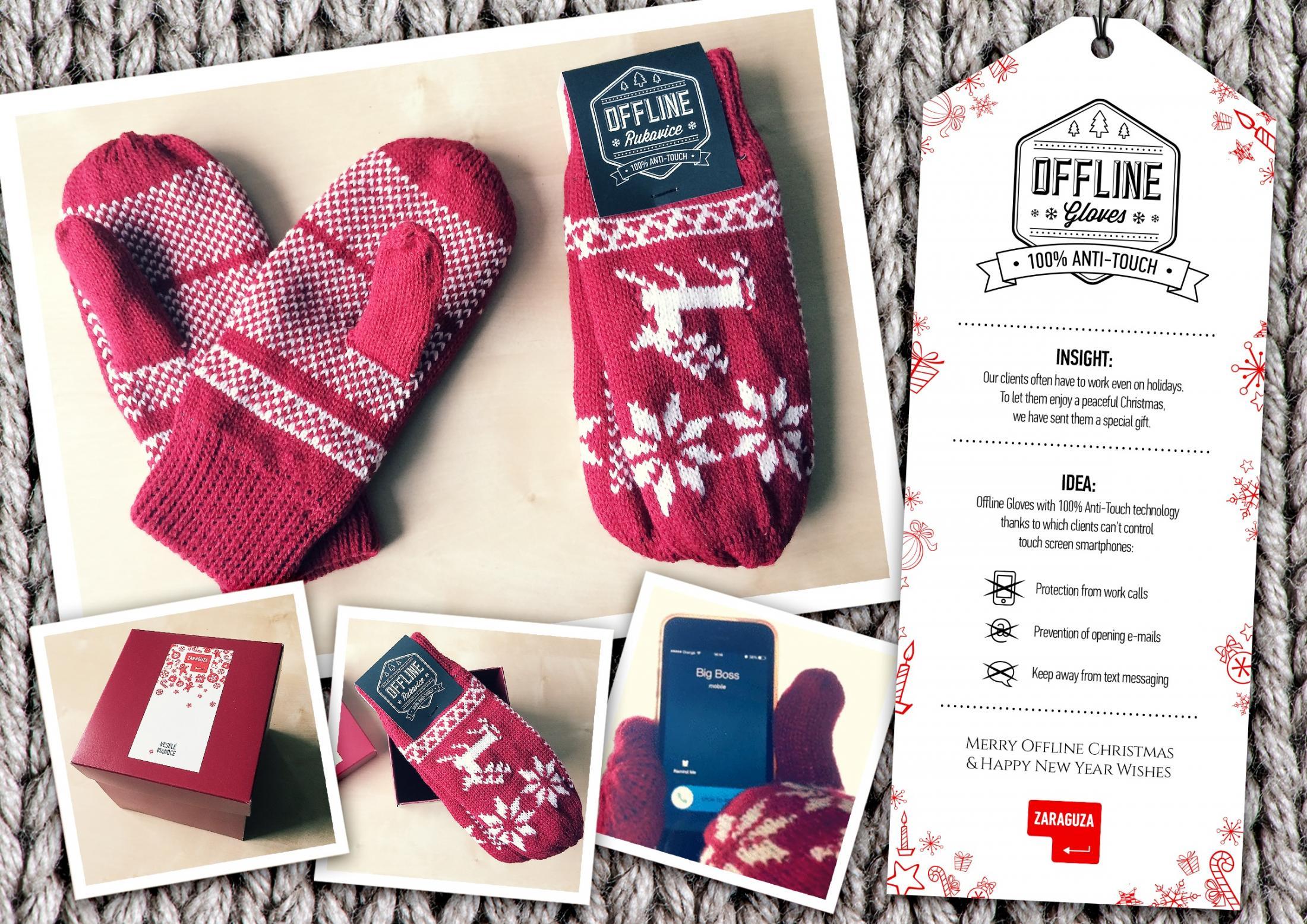Zaraguza Direct Ad -  Offline gloves