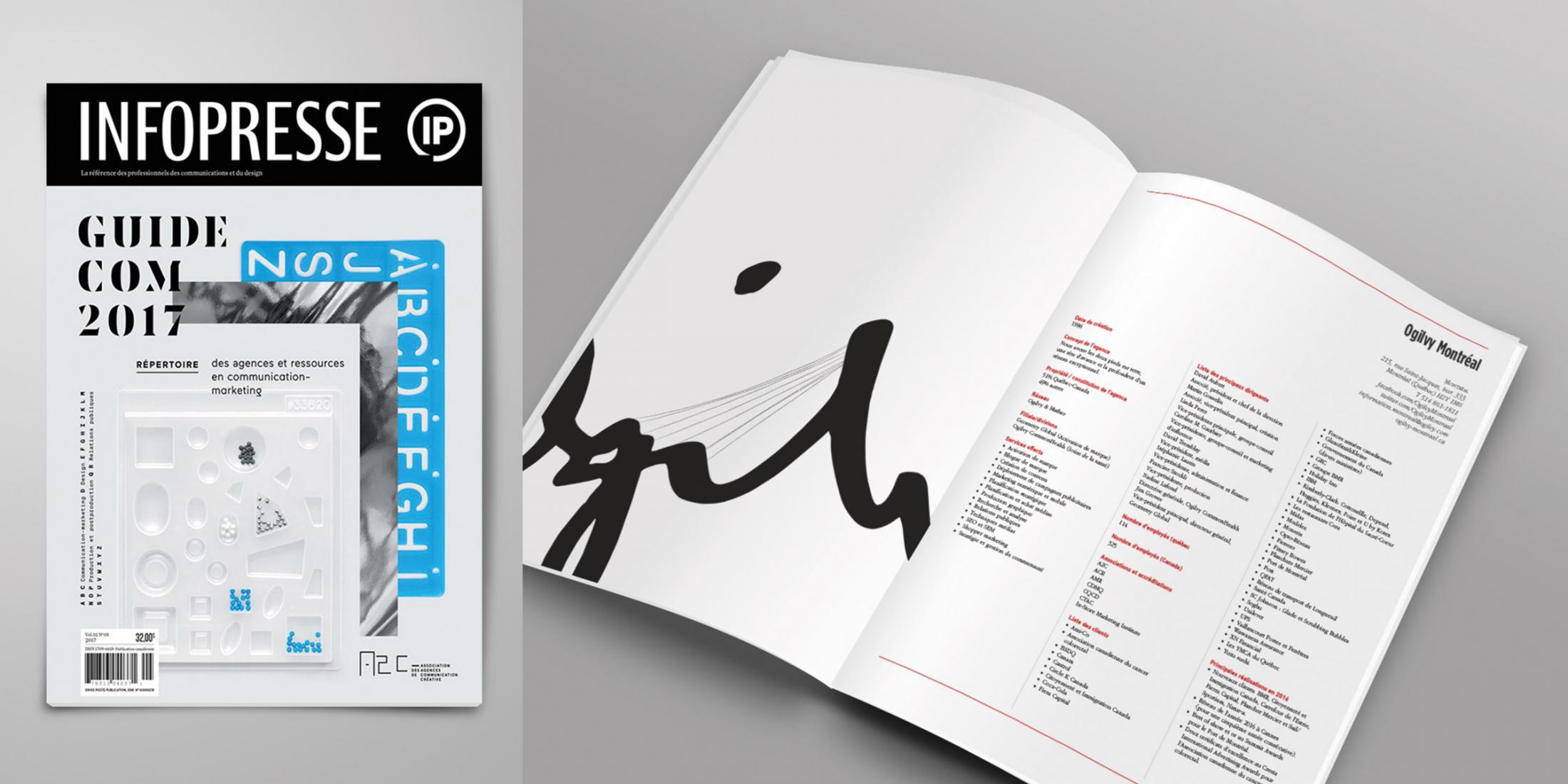 Infopresse Print Ad - Guide Com