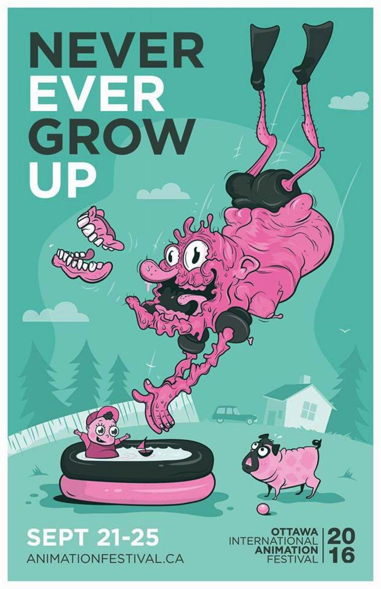 Ottawa International Animation Festival Outdoor Ad - Pool