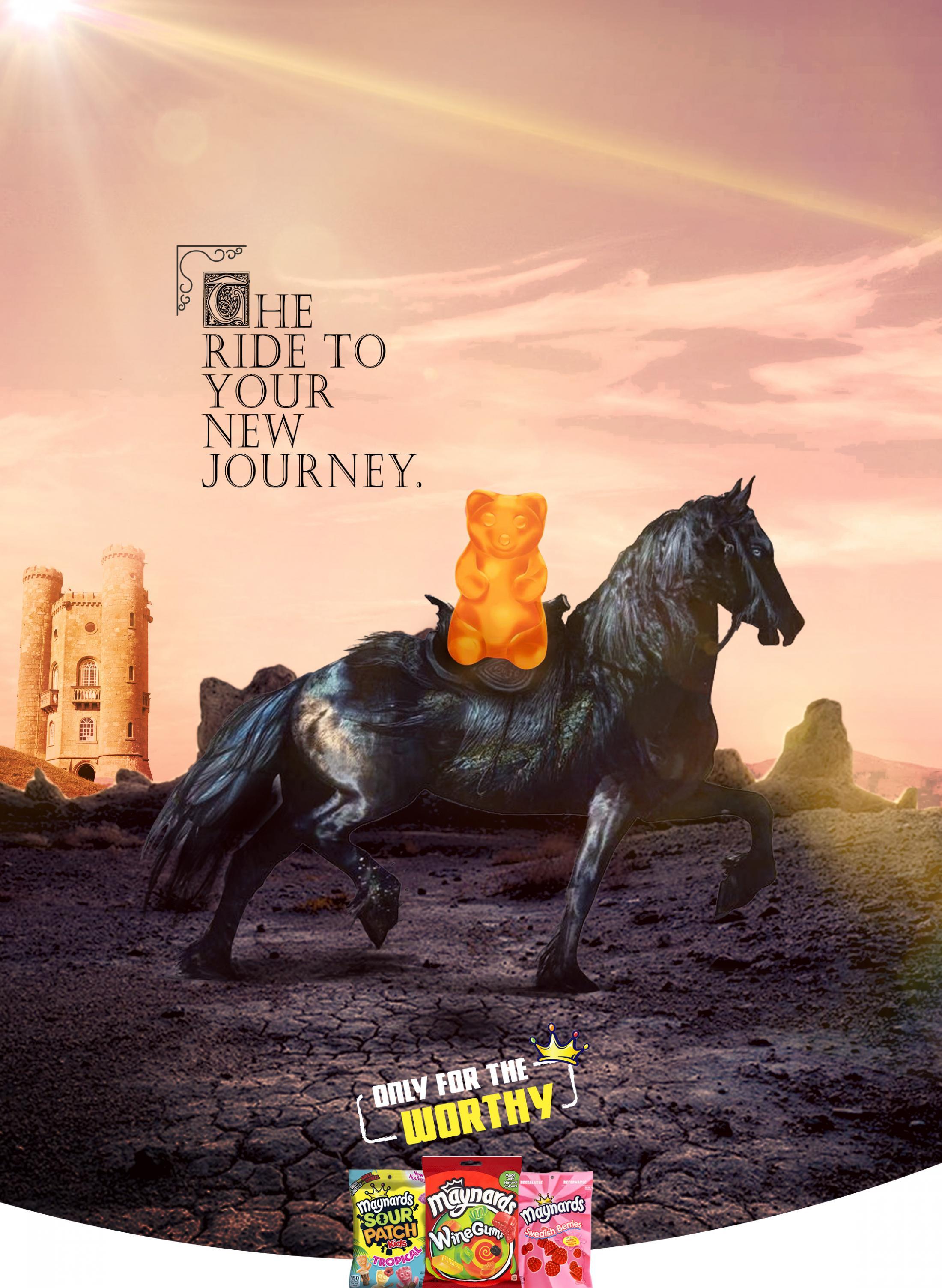 Maynards Print Ad - Ride