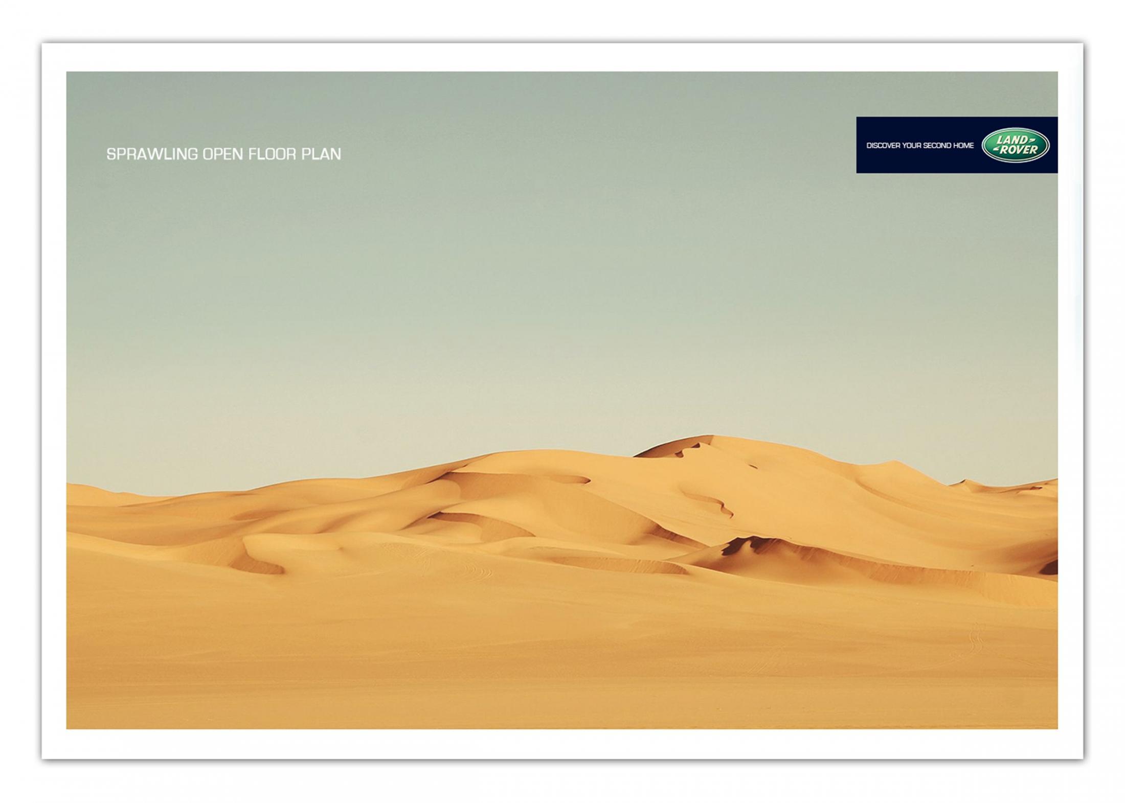 Land Rover Print Ad -  Floor plan