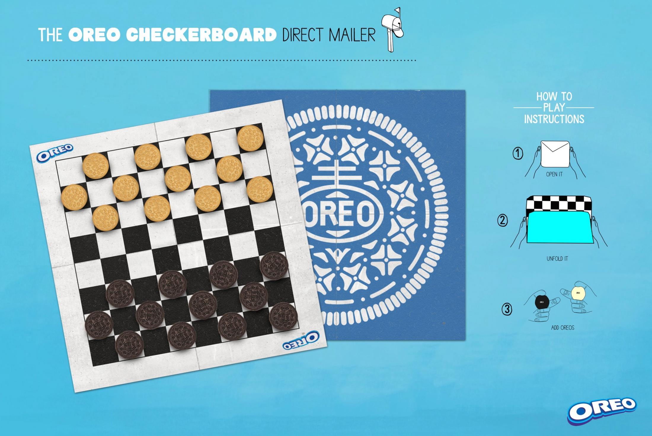 Oreo Direct Ad -  Checkers